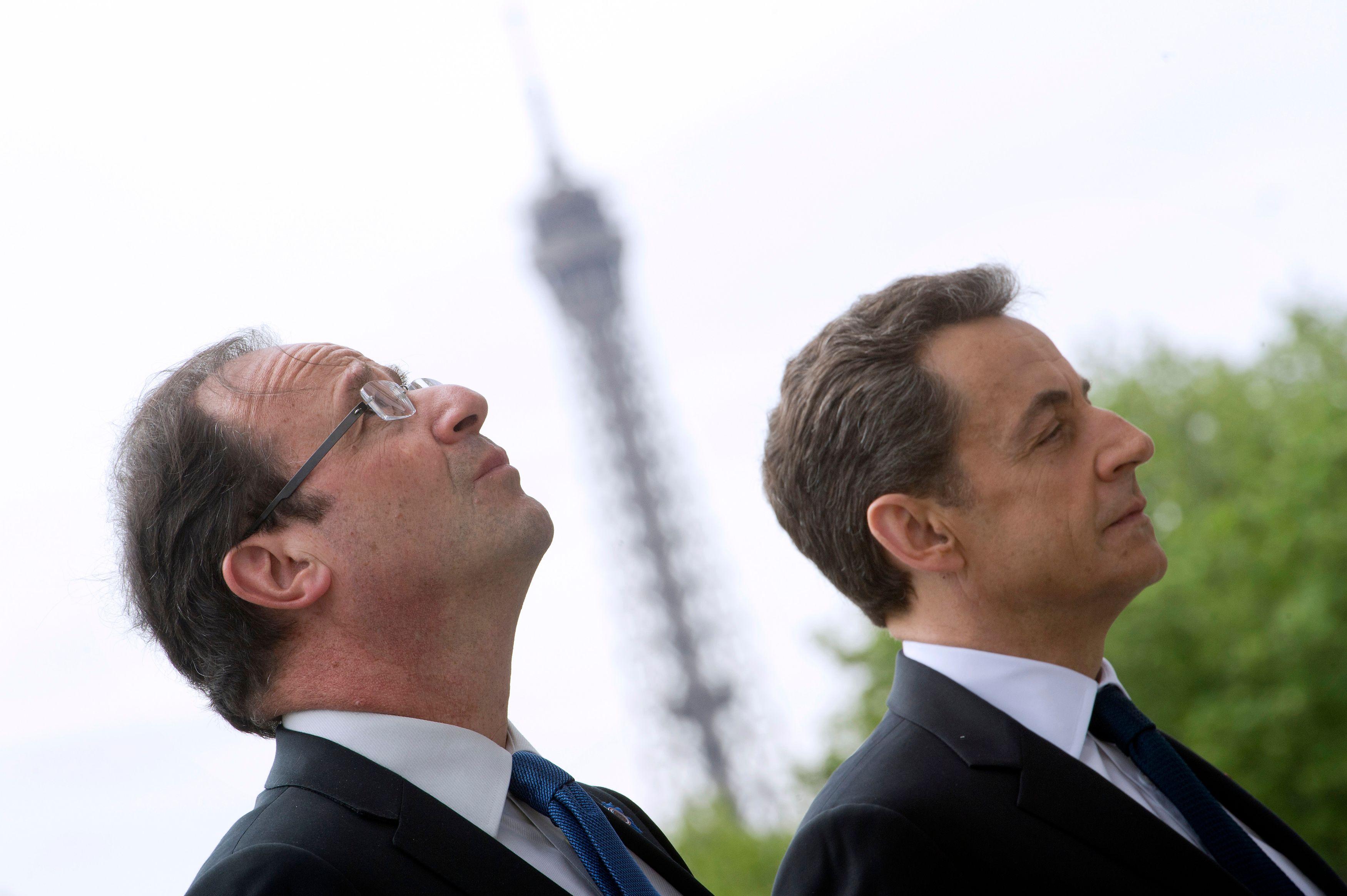 François Hollande est obsédé par Nicolas Sarkozy.