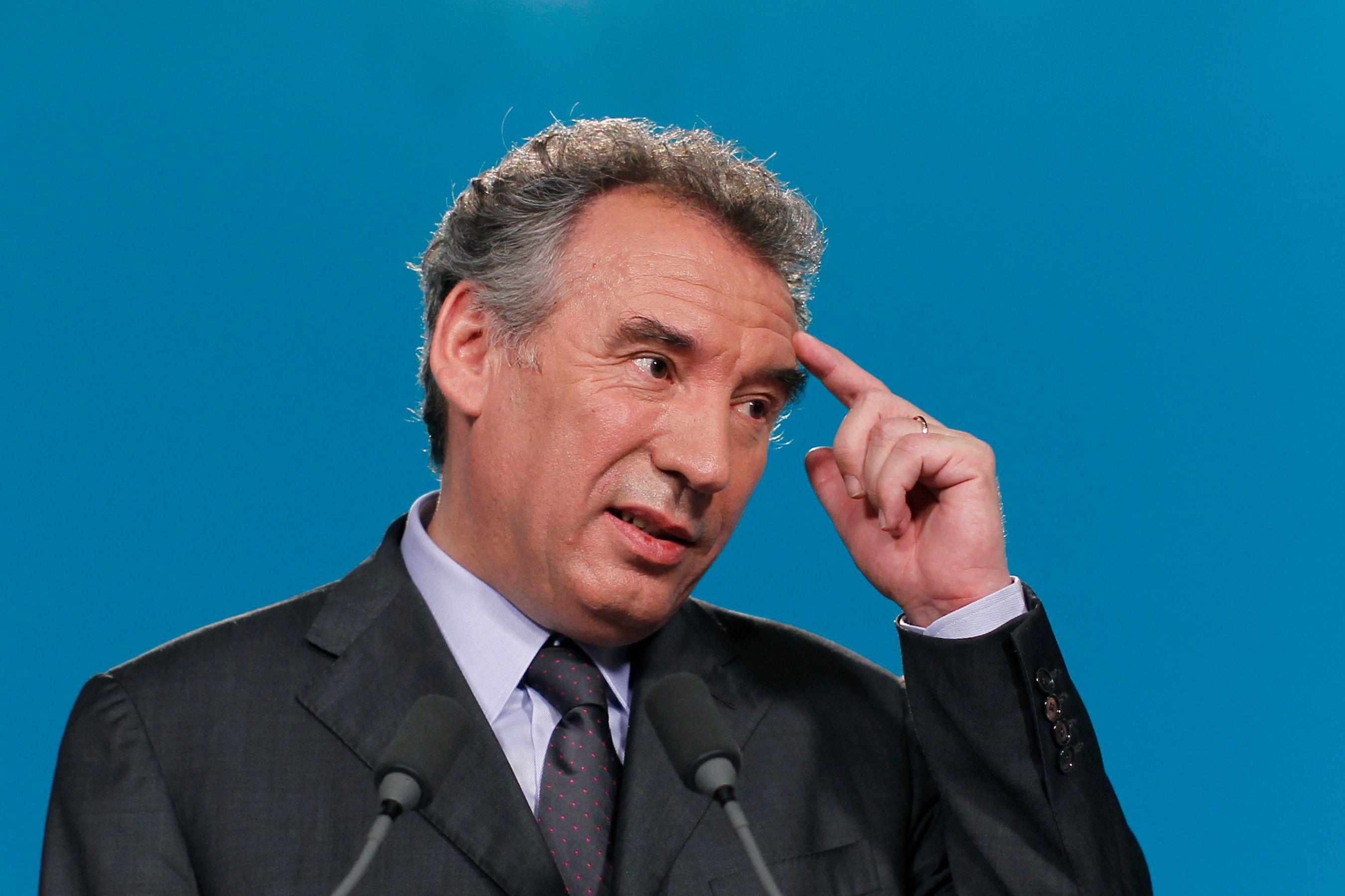"""En cas d'union du centre, pour François Bayrou, il faudra qu'il y ait une primaire pour déterminer qui est le """"patron"""""""