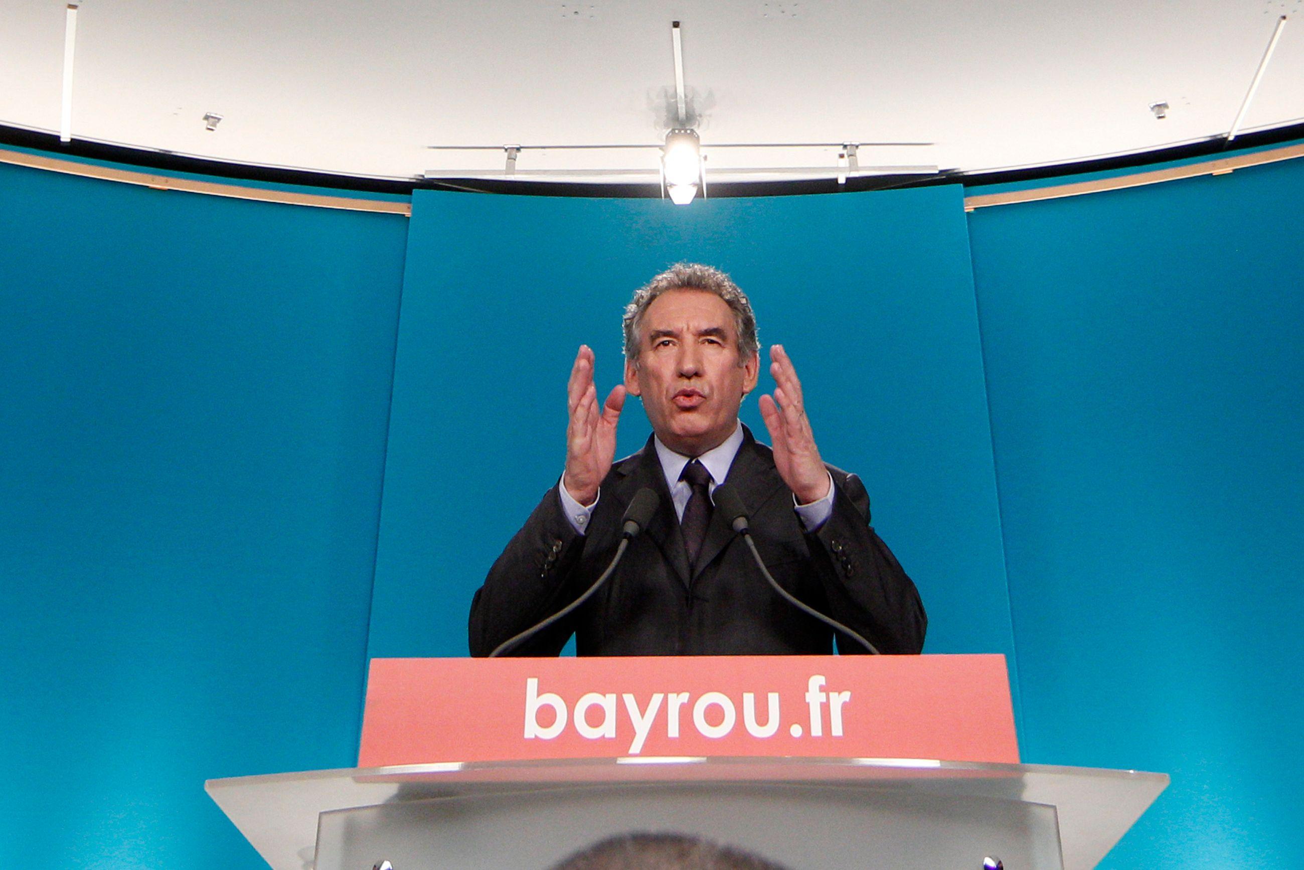 """Pour François Bayrou, """"l'opinion ne voit pas clairement la direction, le but que l'on se fixe"""""""