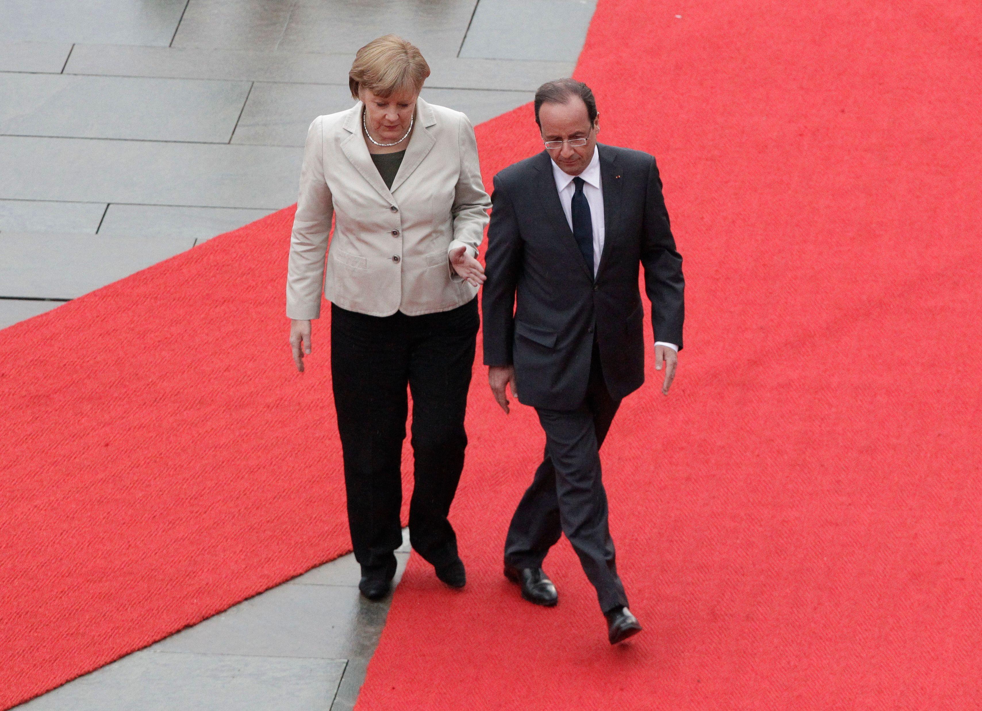 La rupture entre la France et l'Allemagne se consume davantage, de jour en jour.
