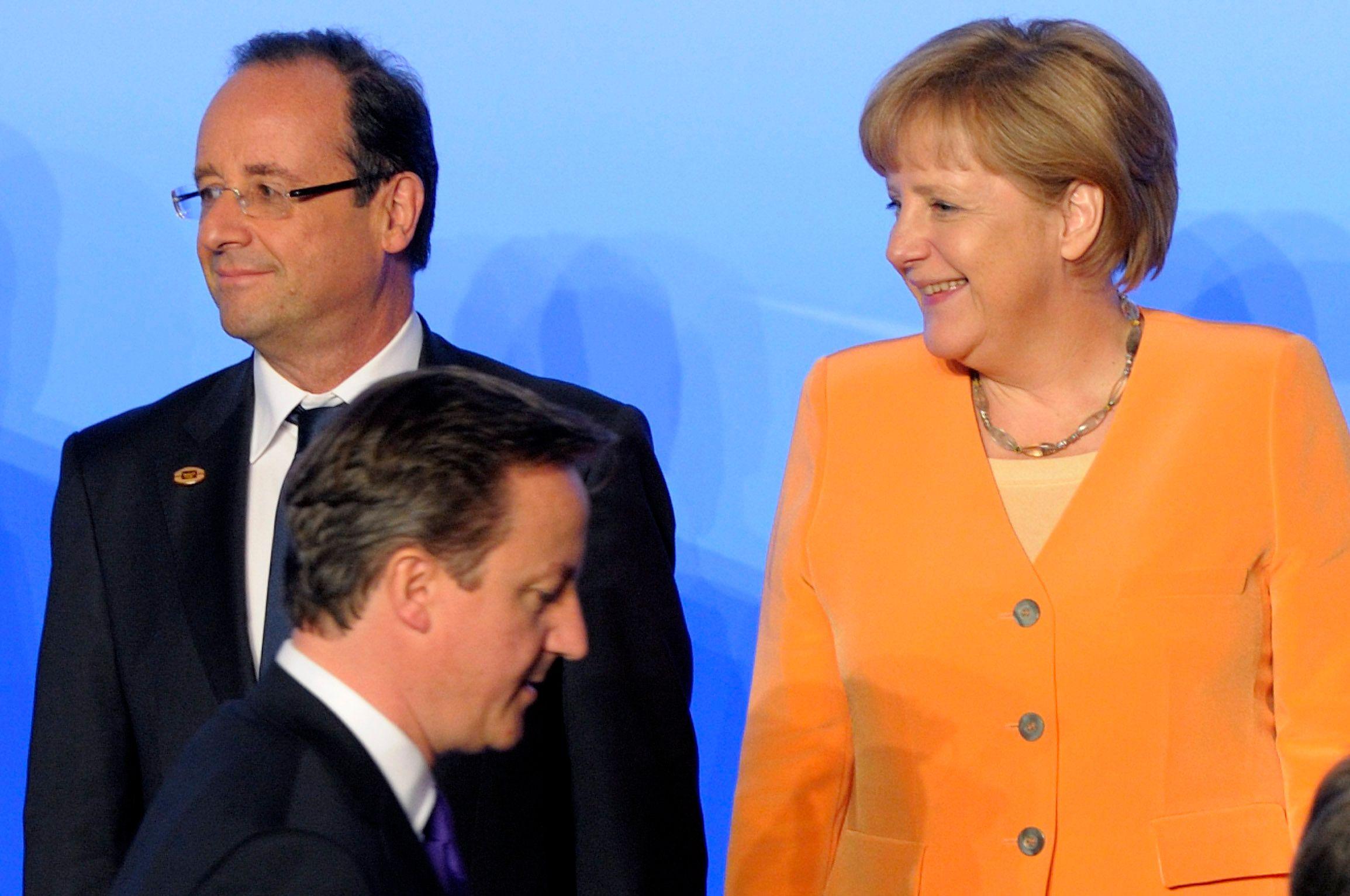 Angela Merkel a convié ce week-end David Cameron au château Meseberg.