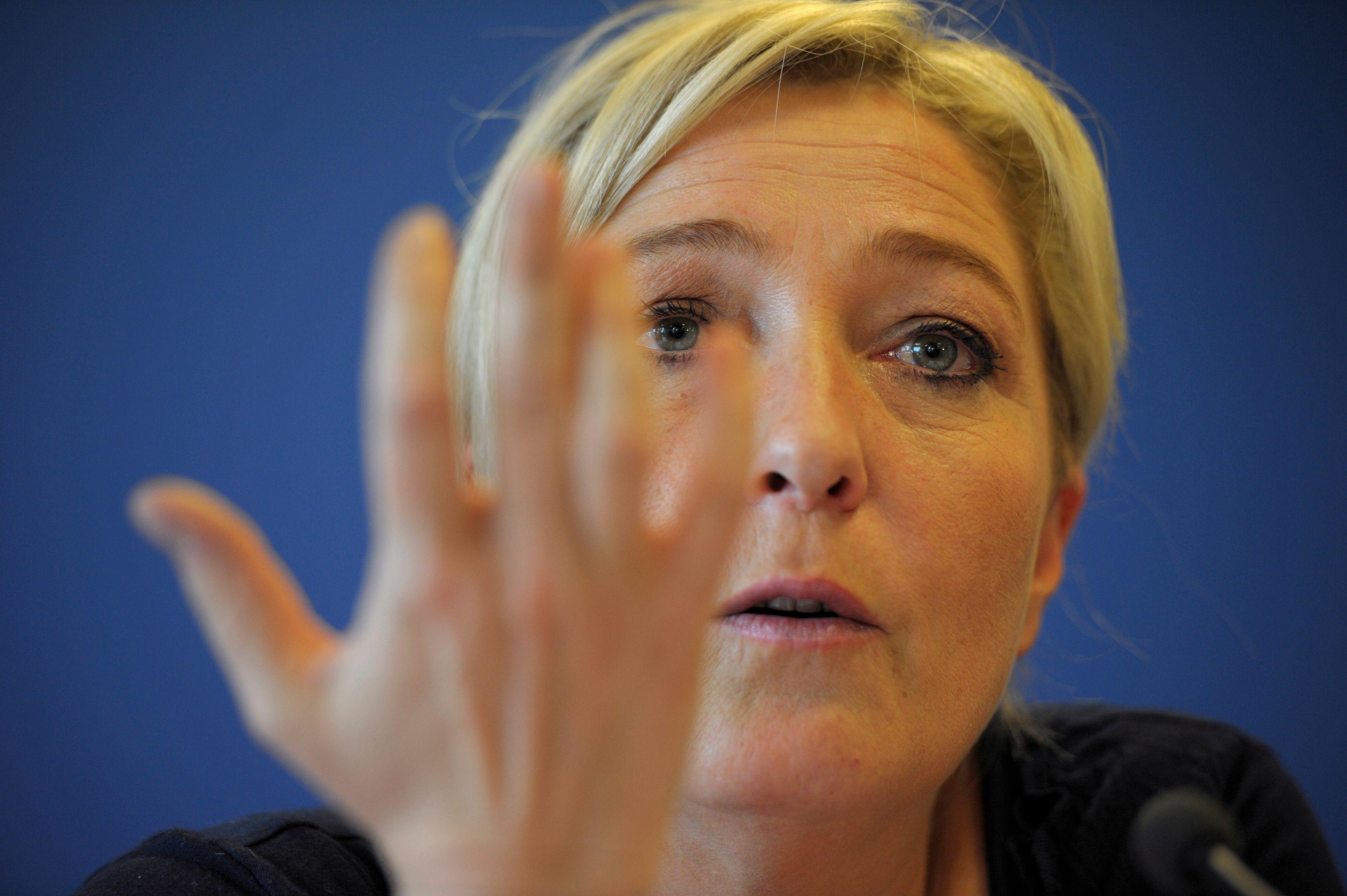 Marine Le Pen a critiqué Nicolas Sarkozy, sa cible favorite