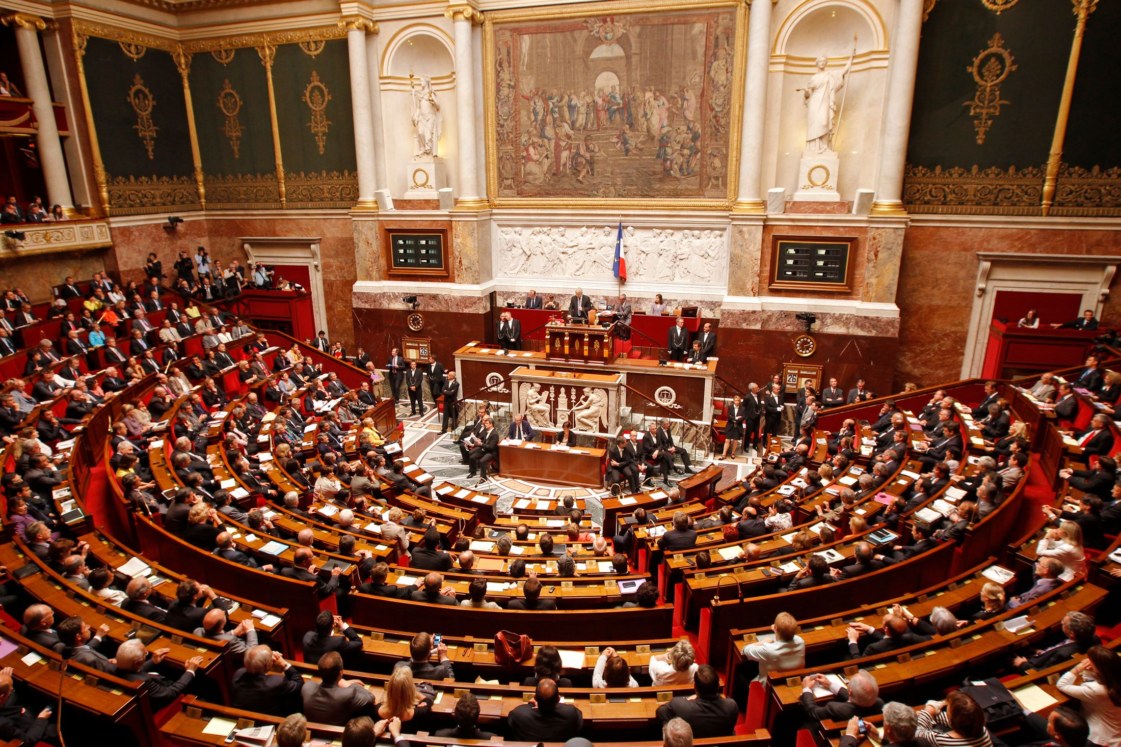 Les députés ont rejeté la motion de censure déposée contre le gouvernement de Jean-Marc Ayrault.