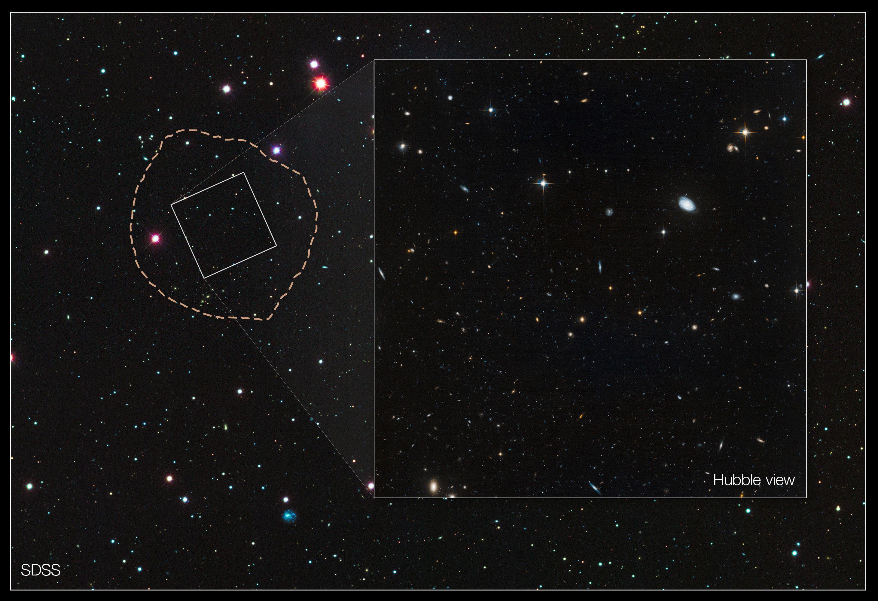 Vue de l'espace (photo d'illustration).