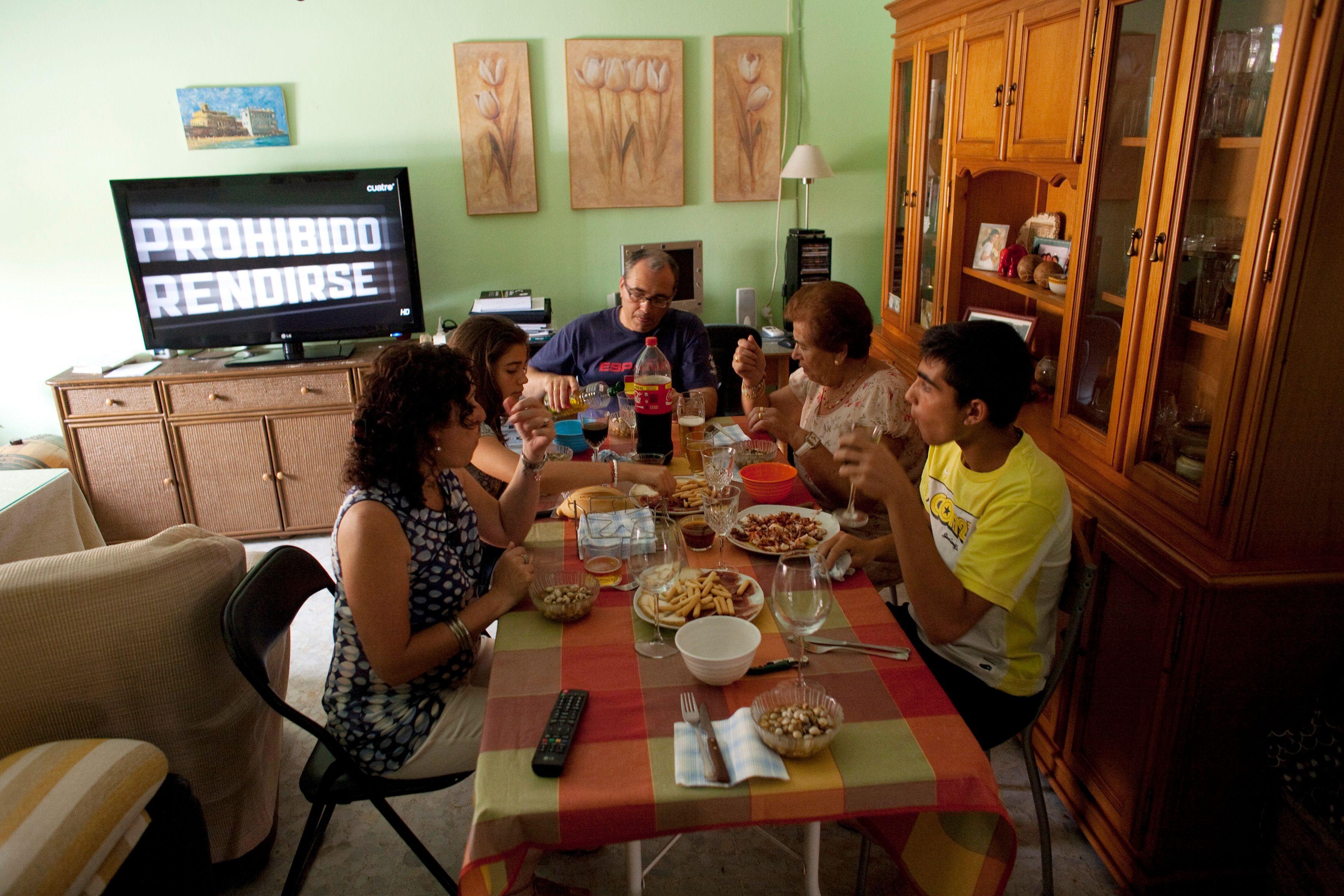 Les parents consacrent de moins en moins de temps à la préparation des repas.