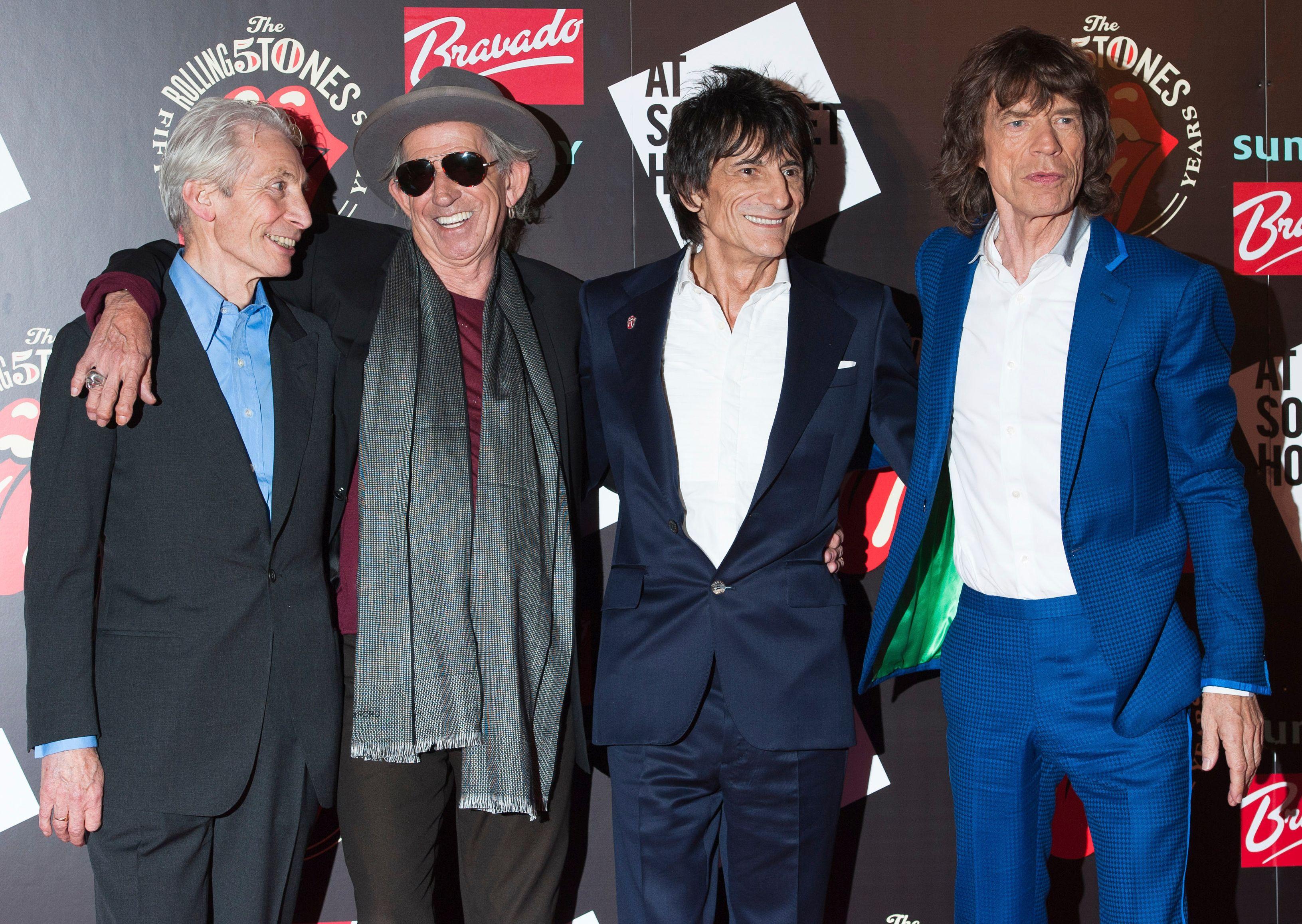 Les Rolling Stones.