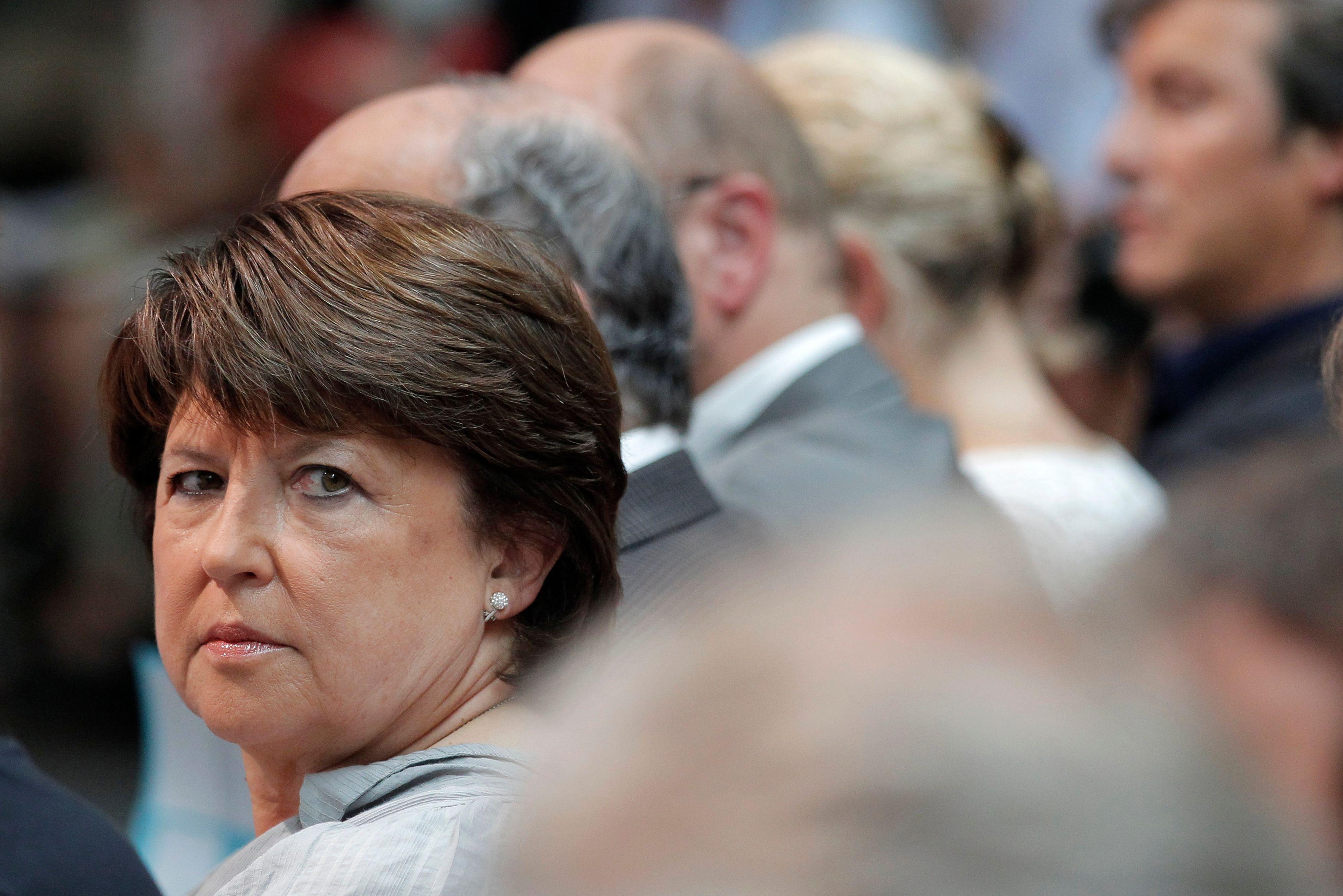 """Martine Aubry critique vivement certains de ses """"amis"""" socialistes"""