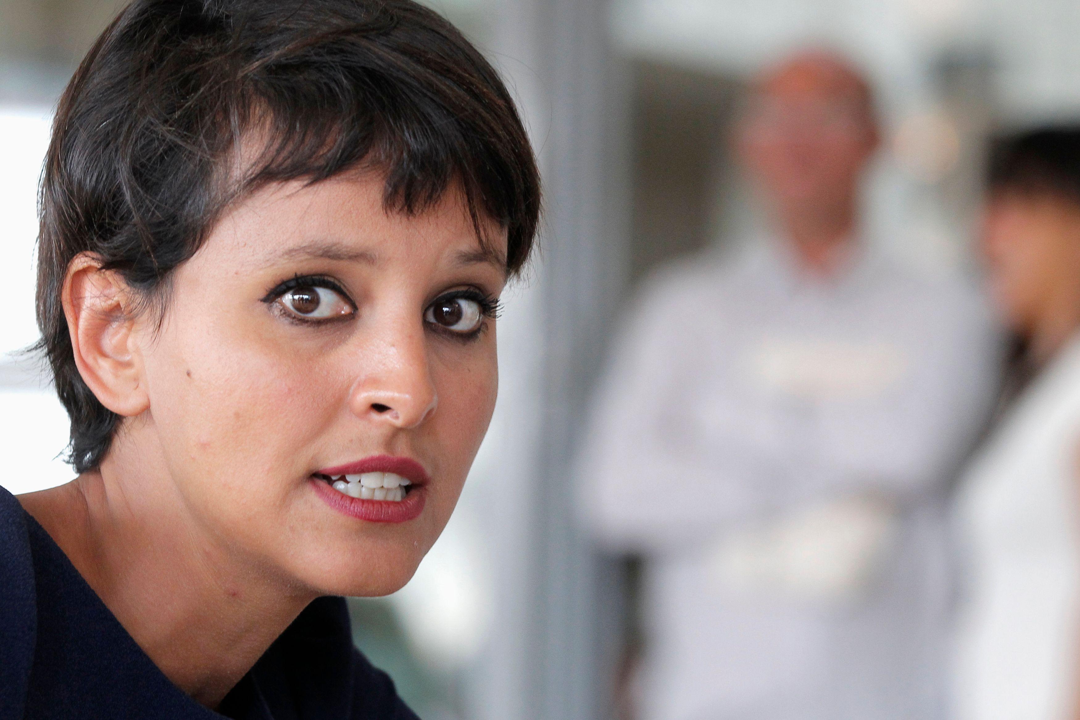 Najat Vallaud-Belkacem a été nommée ministre de l'Education nationale