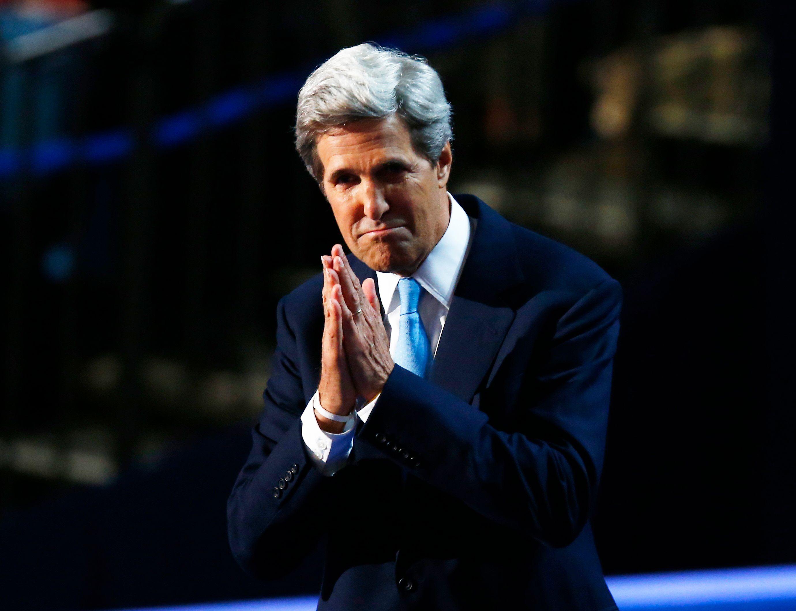 """""""Des armes chimiques ont été utilisées en Syrie"""", a affirmé de manière catégorique lundi le secrétaire d'Etat John Kerry"""