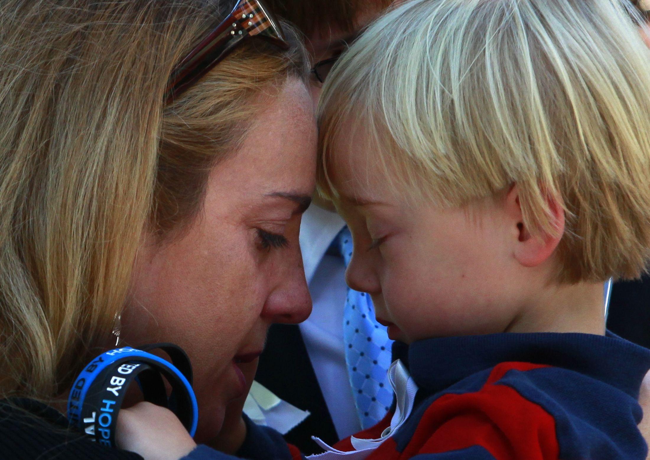 """""""L'impact au jour le jour d'une relation toxique peut diminuer au fur et à mesure que les enfants grandissent."""""""