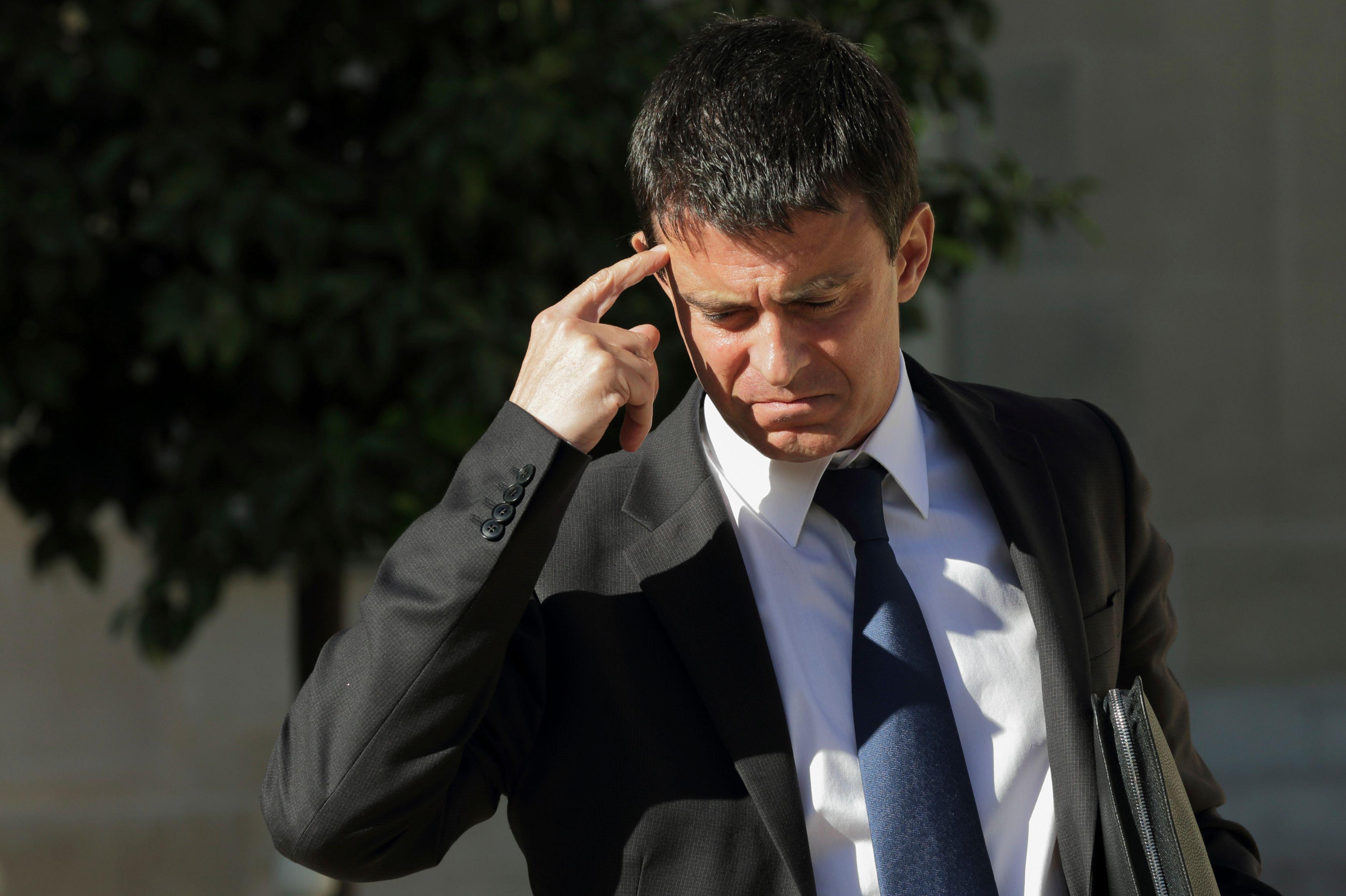 """Elections européennes : pour Valls, il faut """"expliquer aux Français qu'il s'agit d'un enjeu majeur"""""""