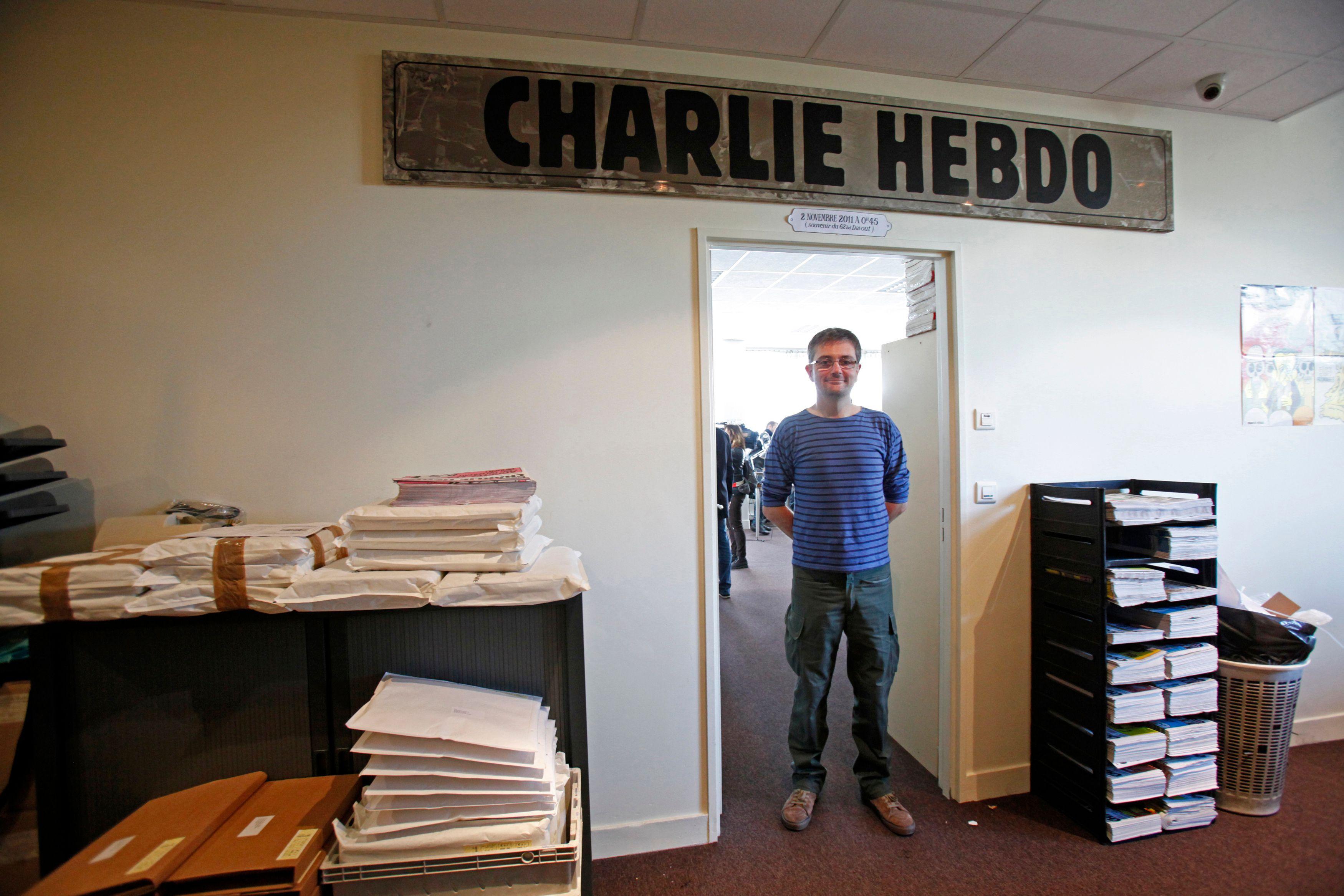 Charb, ancien directeur de publication de Charlie hebdo