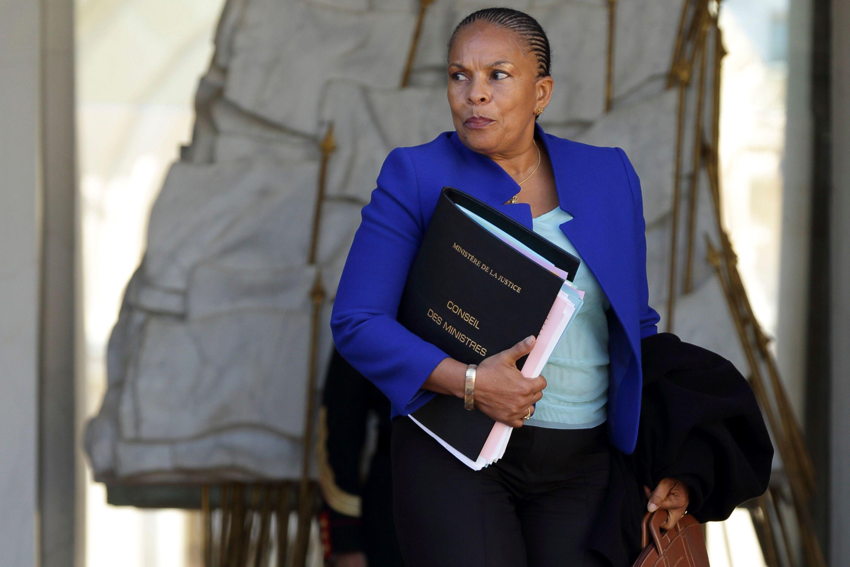 Christiane Taubira refuse l'impunité pour les avocats