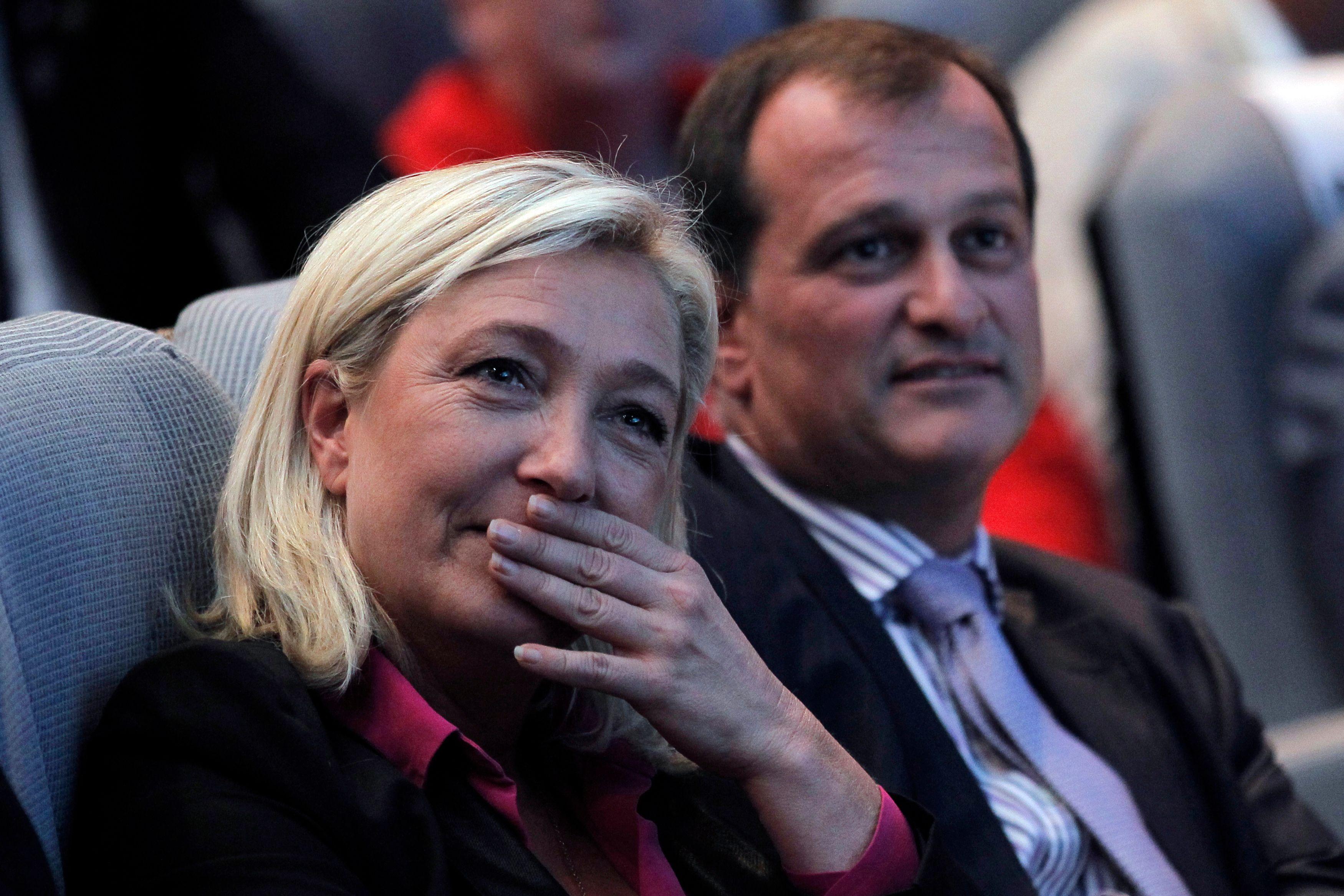 Après 10 ans de relations, Louis Aliot et Marine Le Pen se sont séparés