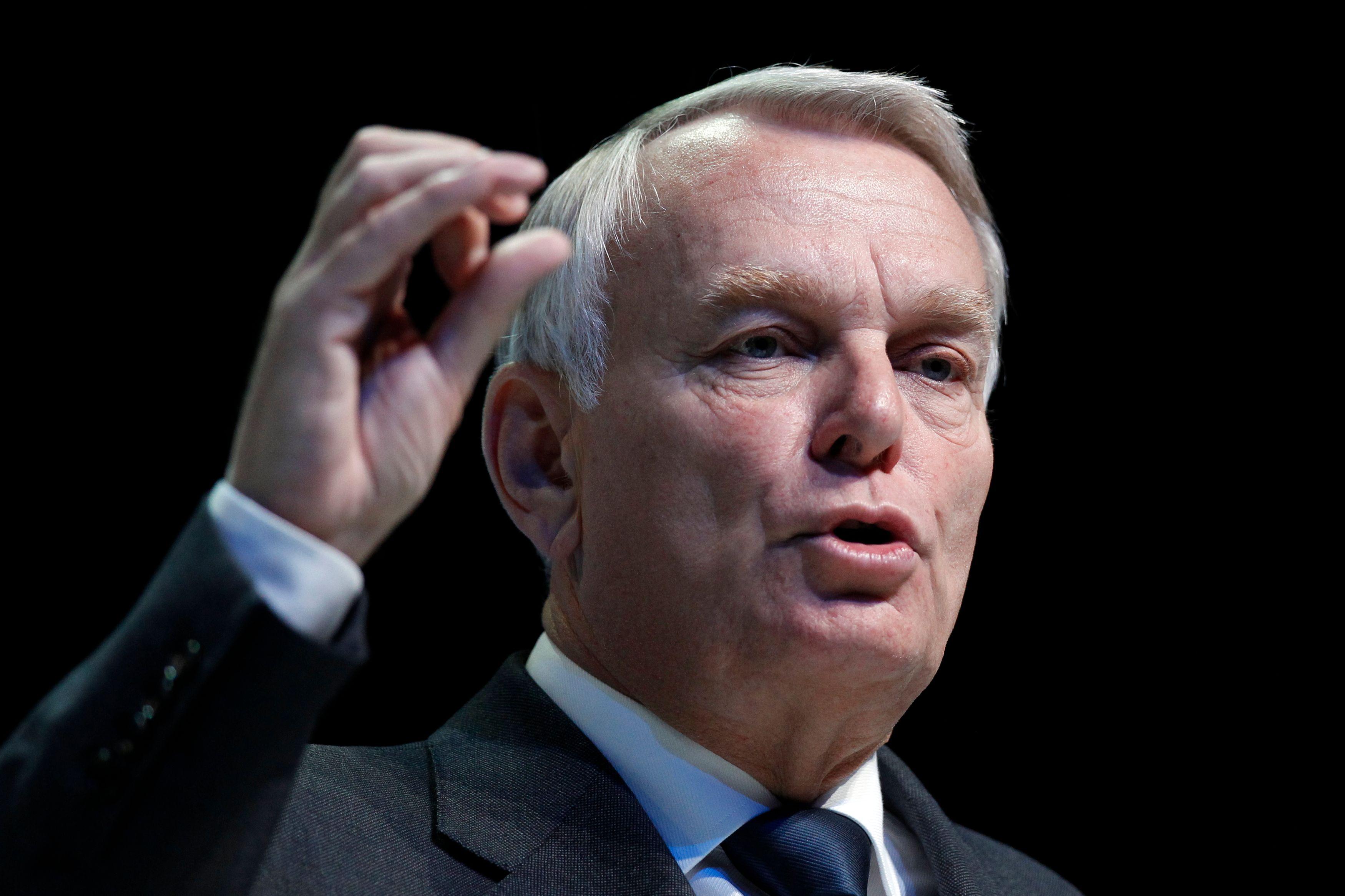 Jean-Marc Ayrault a présenté la réforme des retraites à Matignon, le 27 août 2013.
