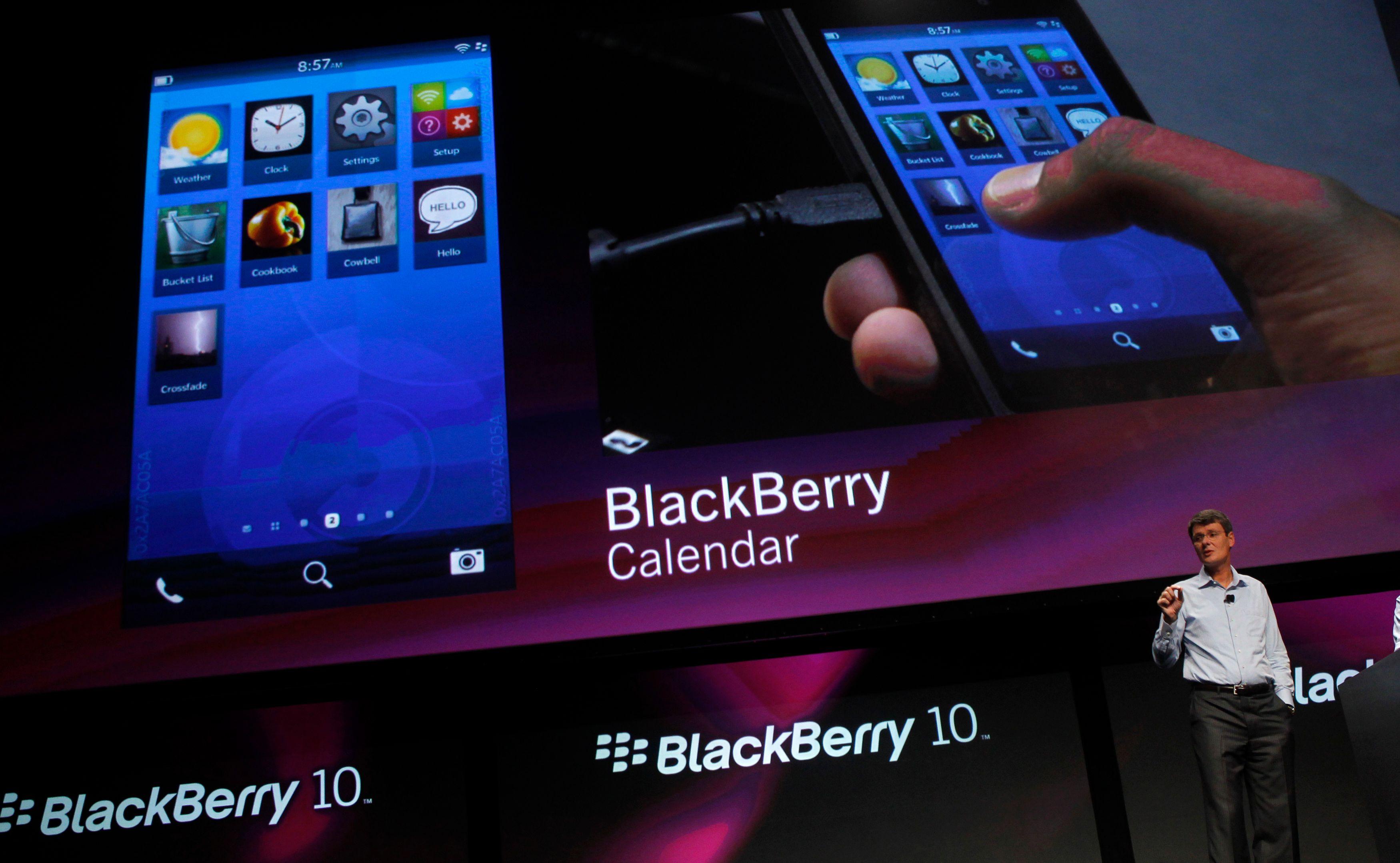 Blackberry envisage sérieusement la vente à un tiers