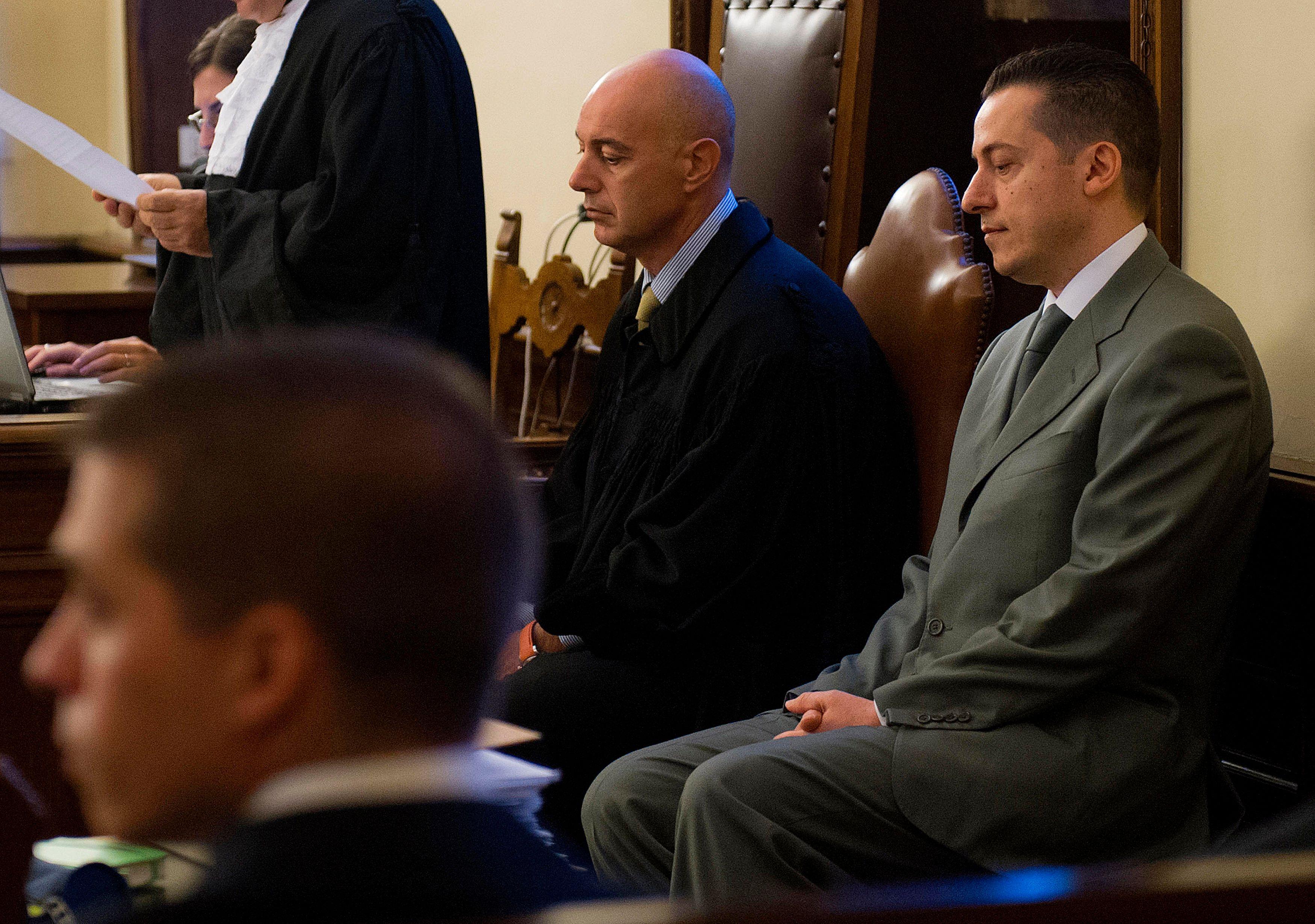 L'ancien majordome du pape, Paolo Gabriele, a clamé son innocence lors de son procès.