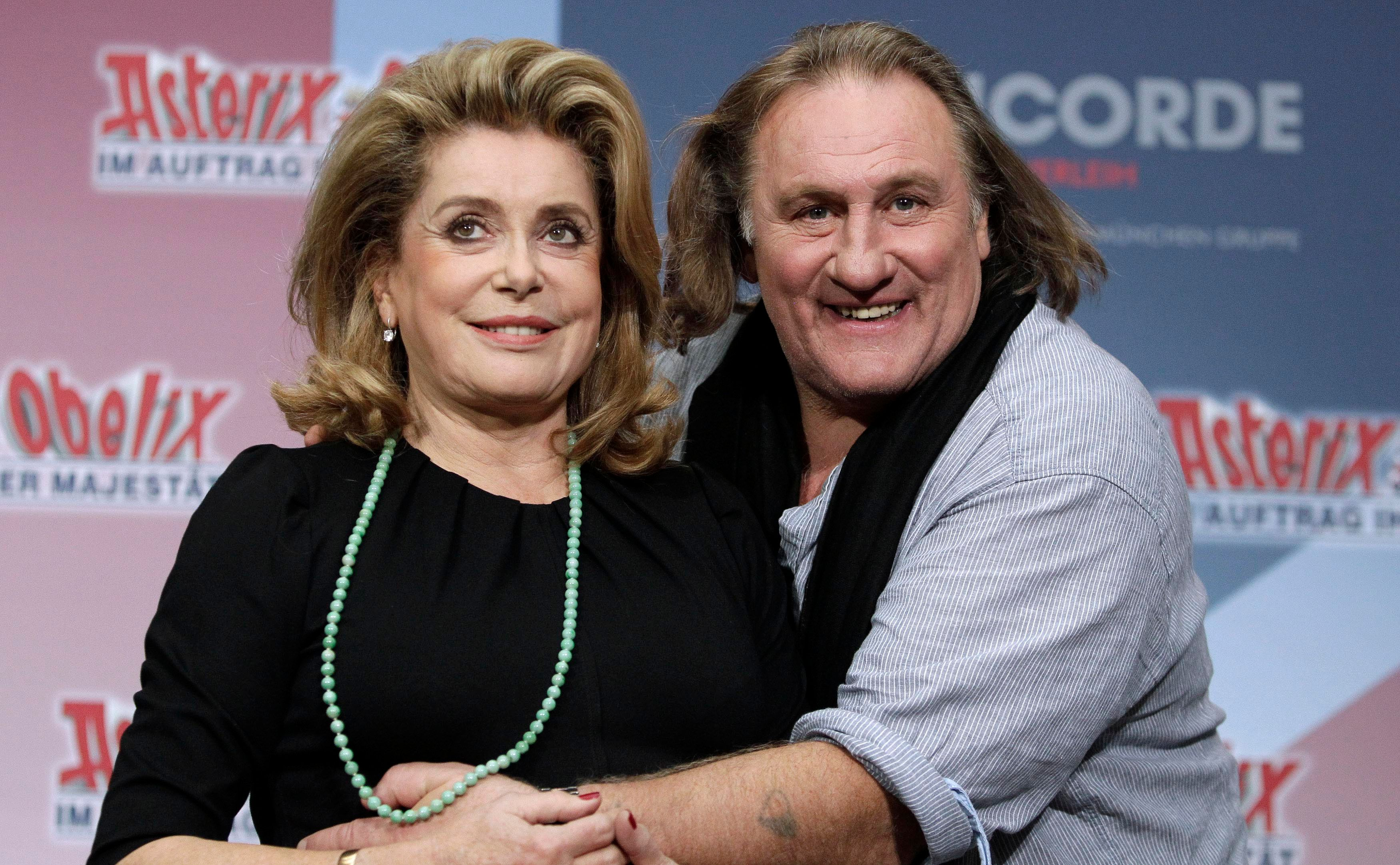 Catherine Deneuve est montée au créneau pour soutenir Gérard Depardieu
