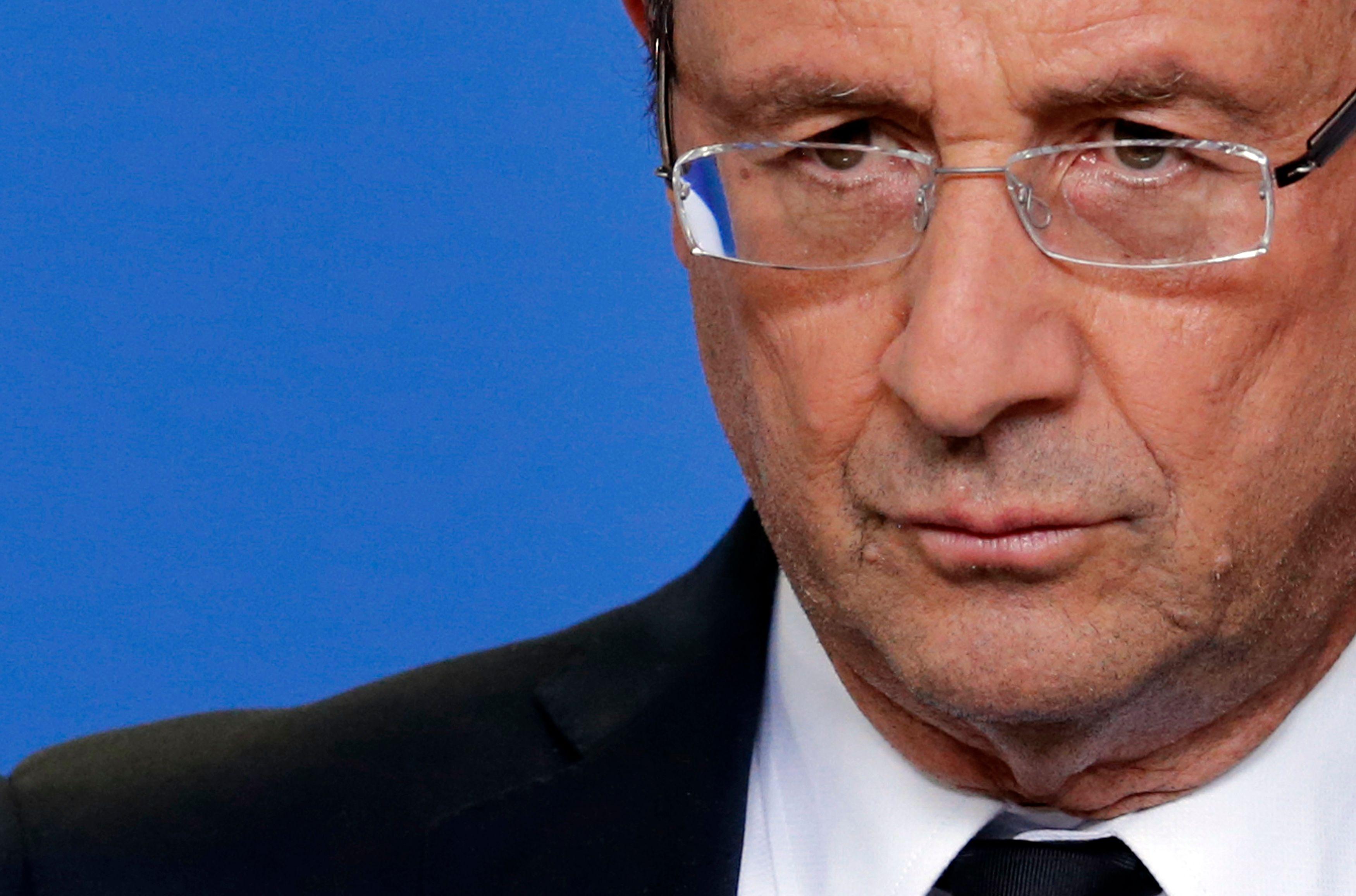 François Hollande, le président de la République