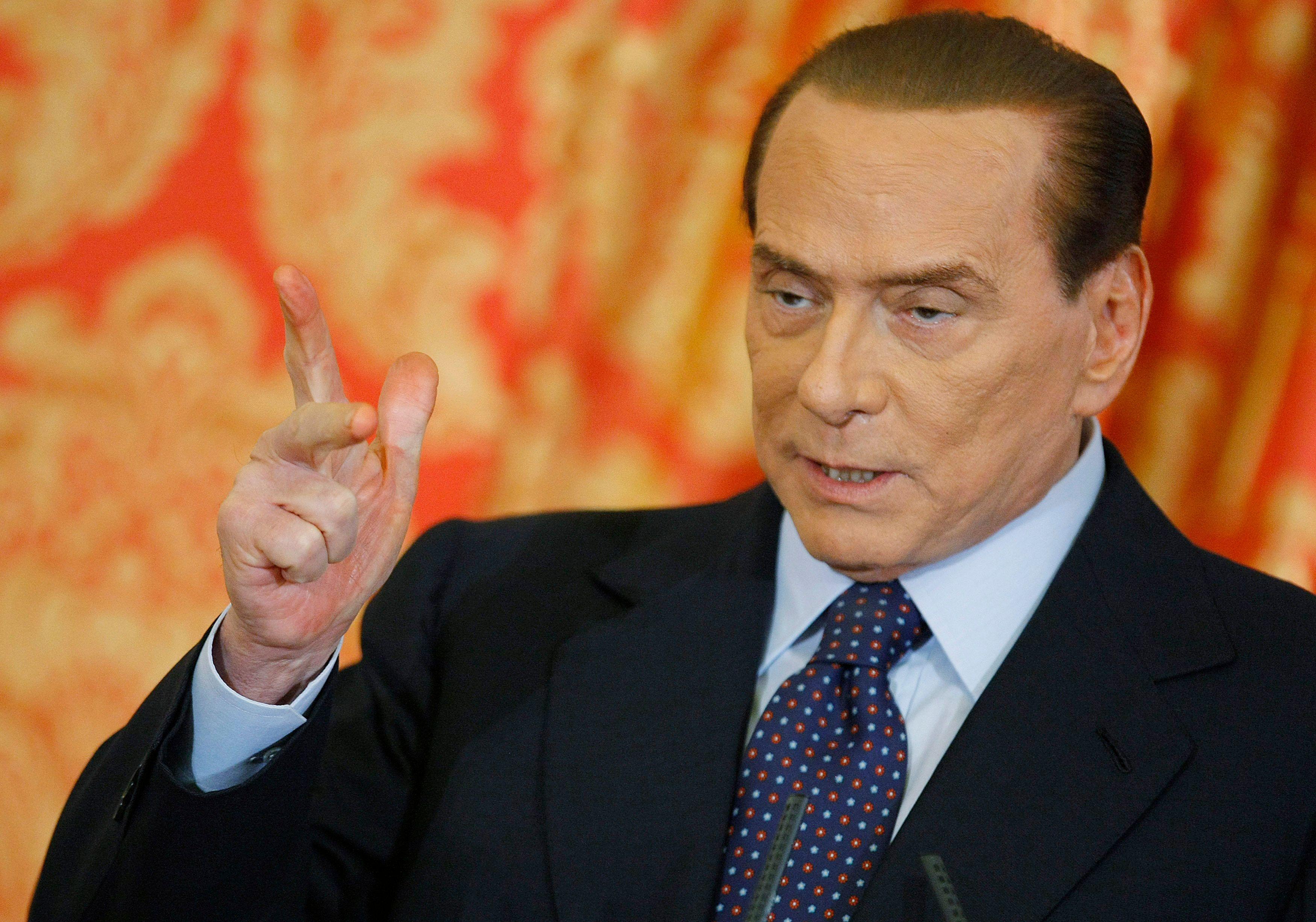 """""""Silvio Berlusconi a été, est et peut être sera encore le seul personnage d'envergure de la vie politique italienne depuis 20 ans""""."""