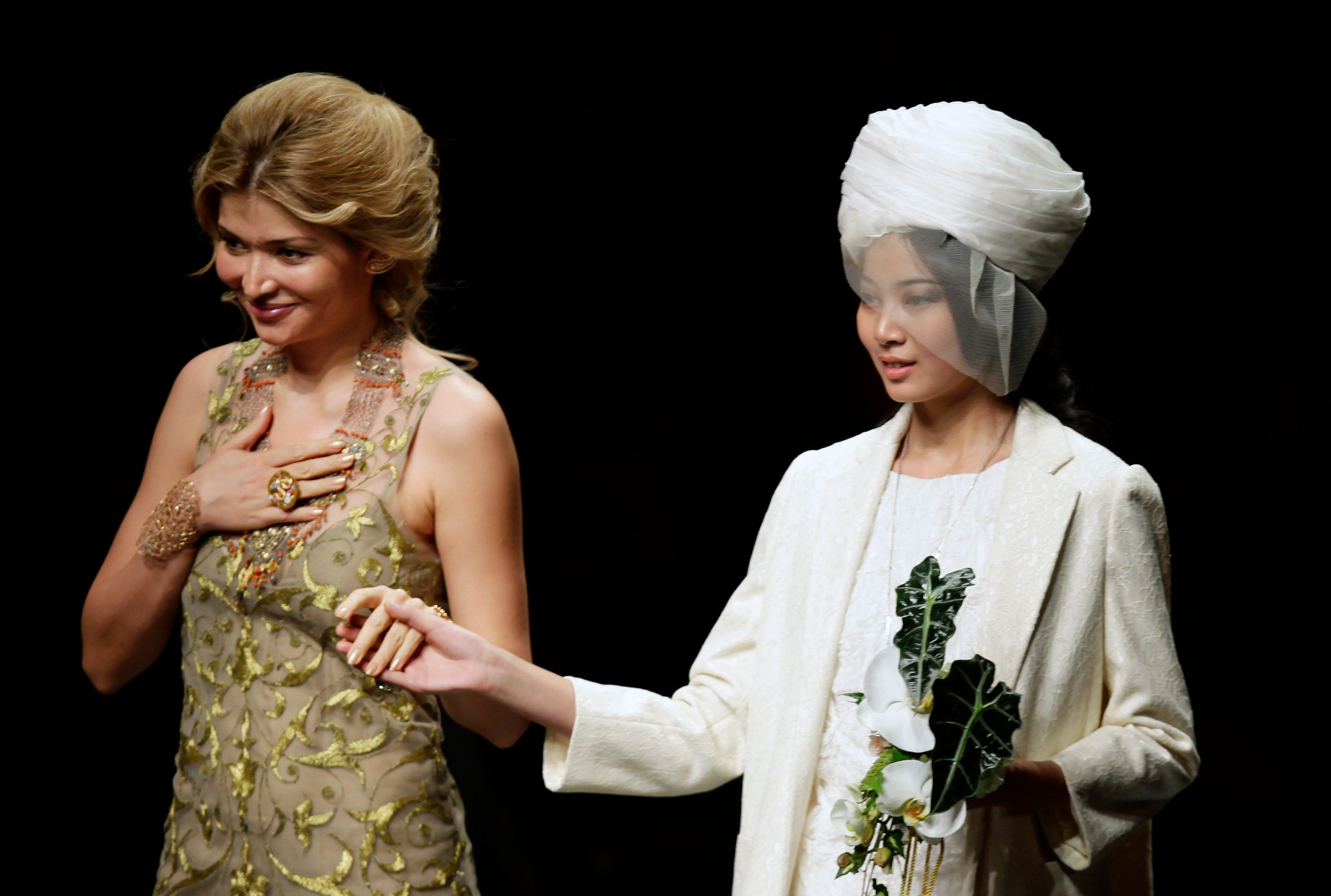 Gulnara Karimova, la fille aînée d'Islom Karimov, président de l'Ouzbékistan.
