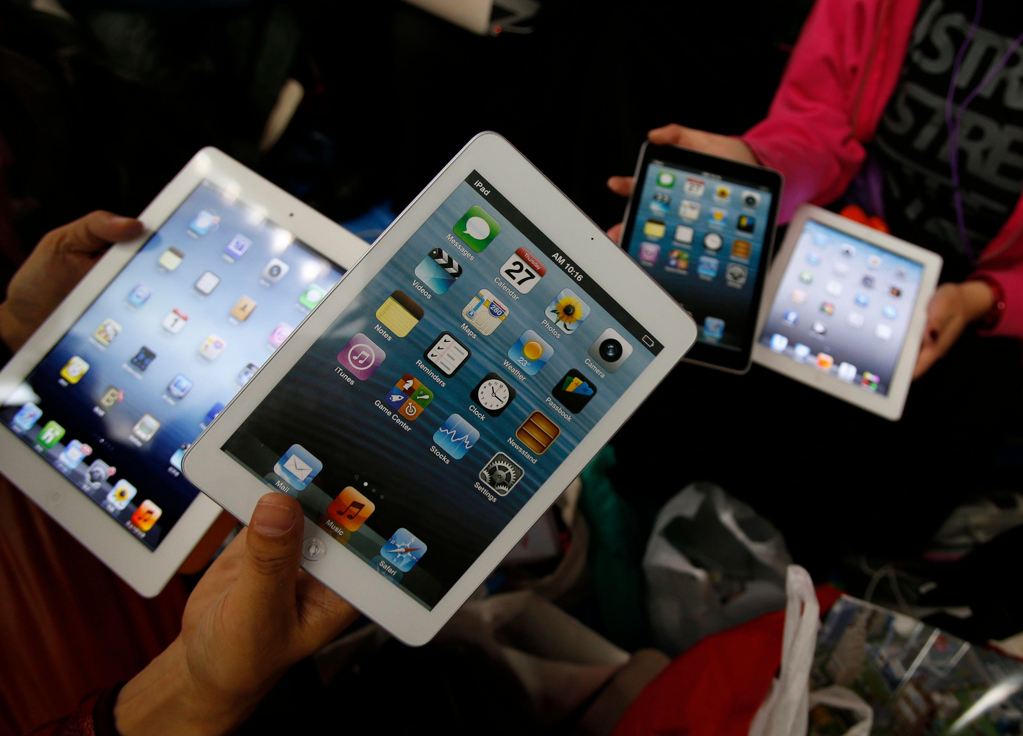 Les ventes d'iPad atteignent un plafond