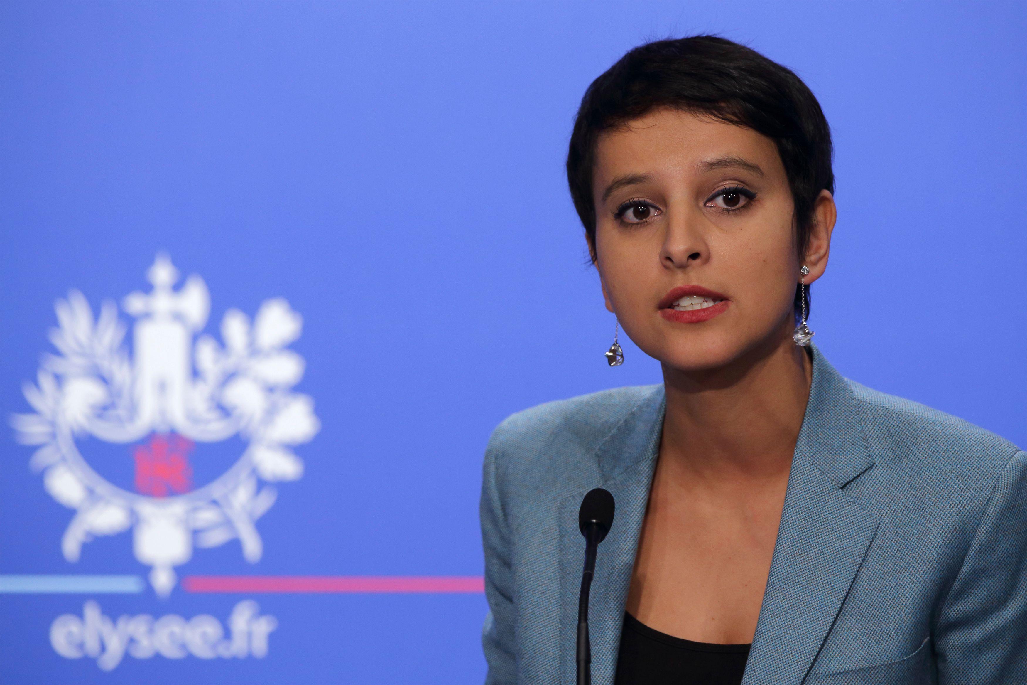 """La ministre Najat Vallaud-Belkacem compte faire aboutir de nouvelles mesures pour """"l'égalité""""."""