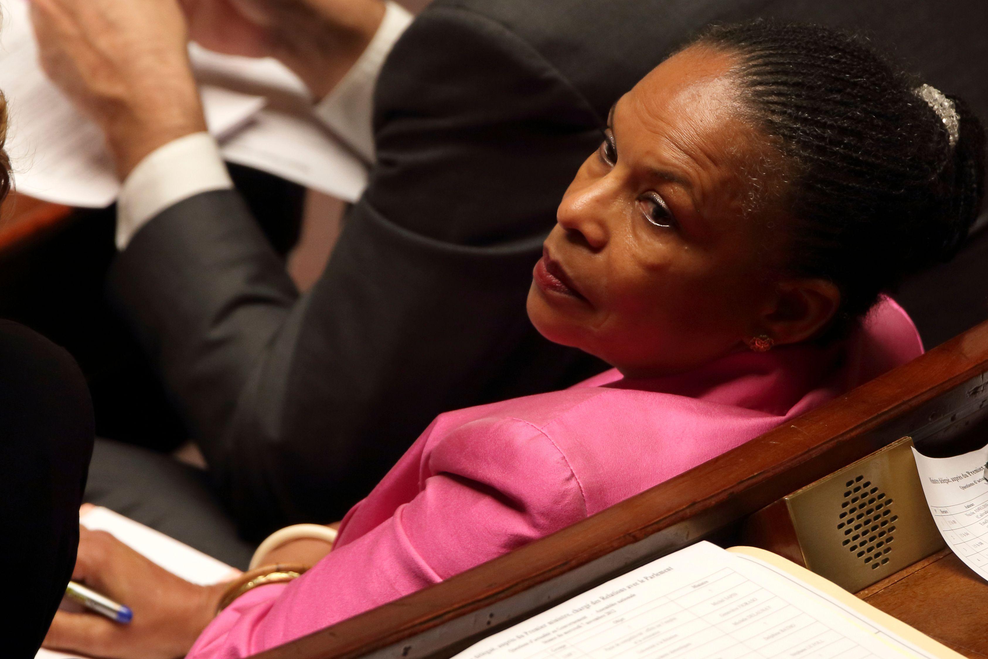"""Christiane Taubira estime que le projet de loi sur le mariage pour tous devrait être """"bouclé"""" cet été."""