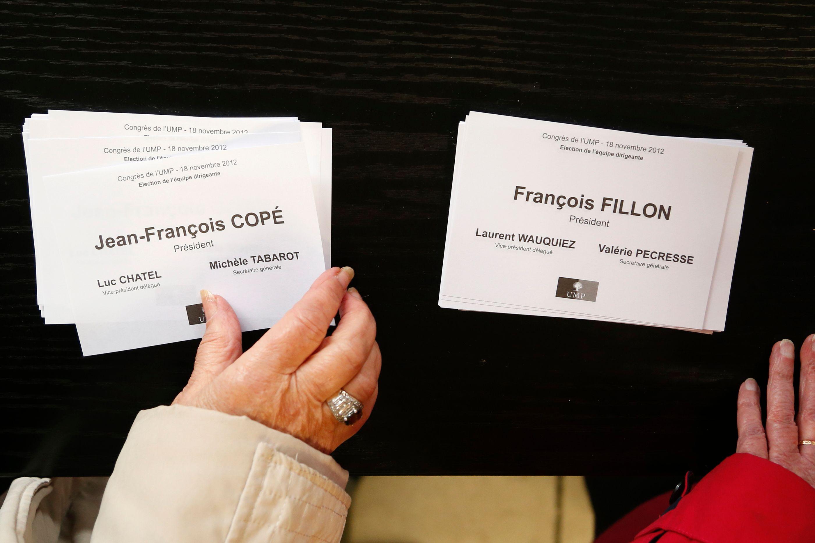 Les militants sont appelés à se prononcer sur leur souhait d'un nouveau vote pour la présidence de l'UMP.