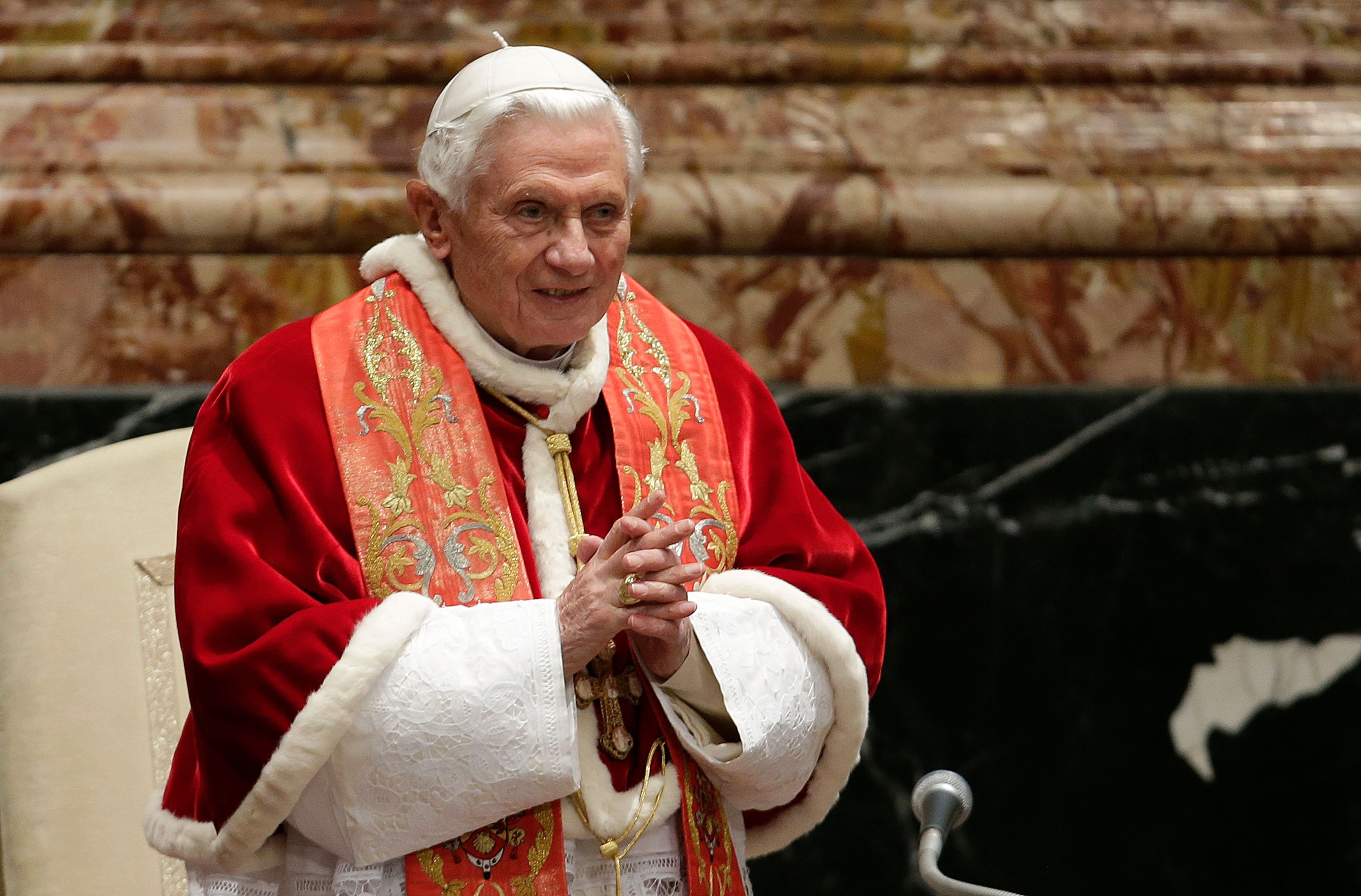 Benoît XVI  ne regrette pas sa décision
