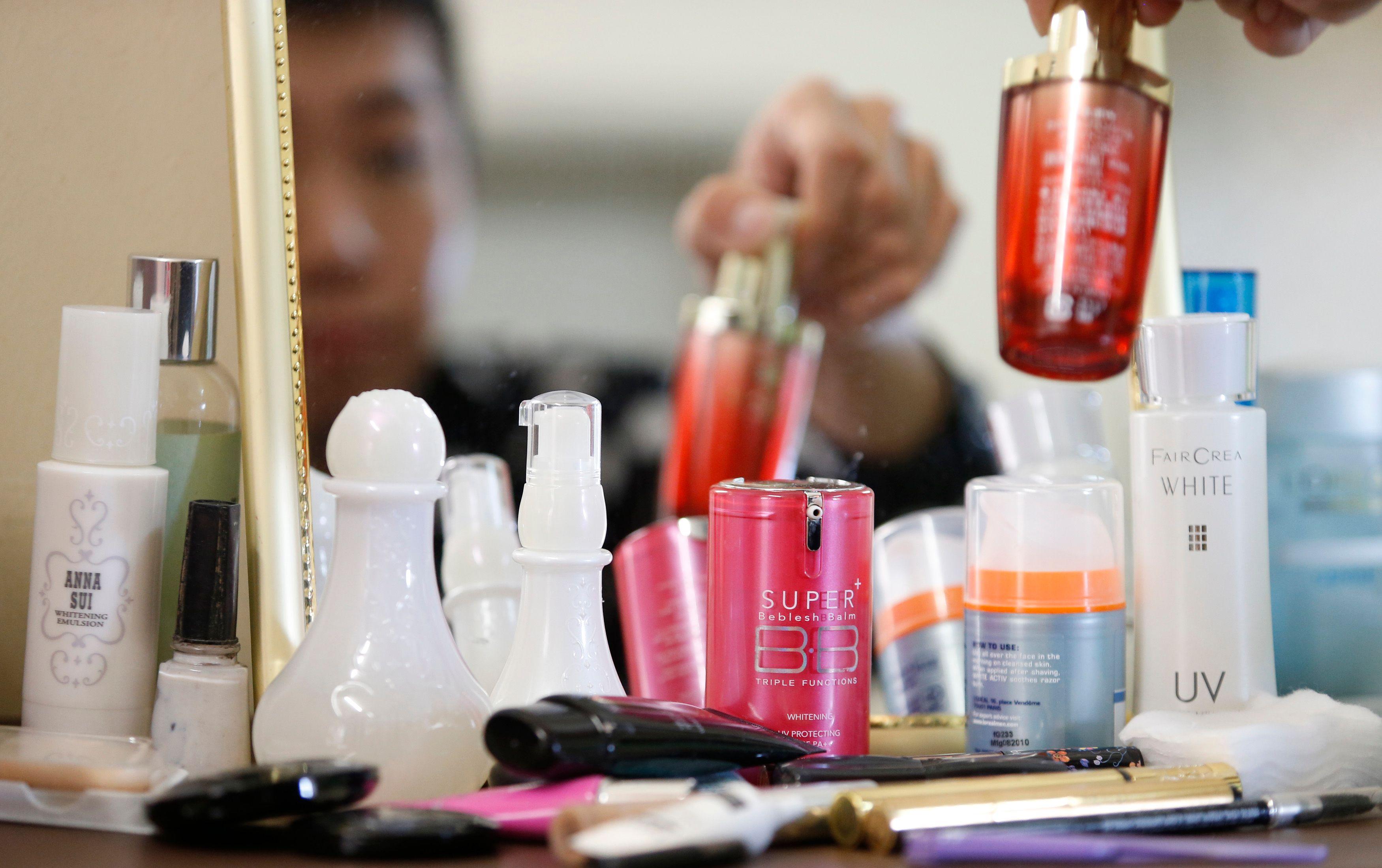 40% des produits de beauté contiennent au moins un perturbateur endocrinien.