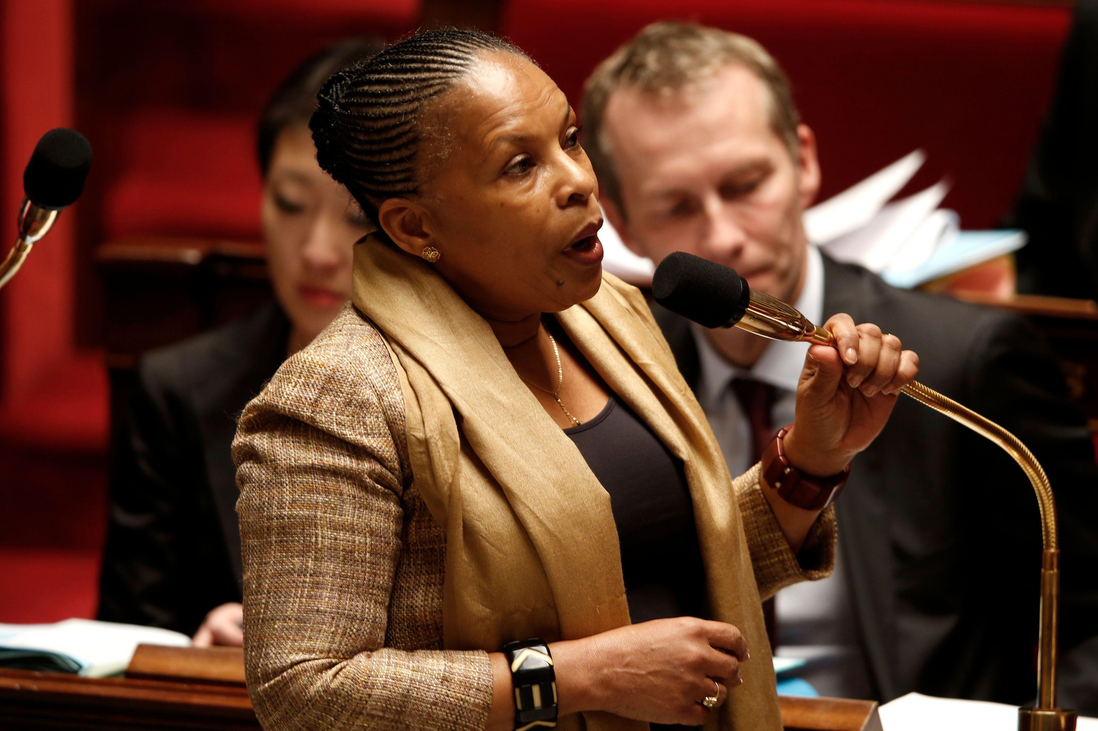 Christiane Taubira va défendre sa réforme pénale à partir de mardi à l'Assemblée