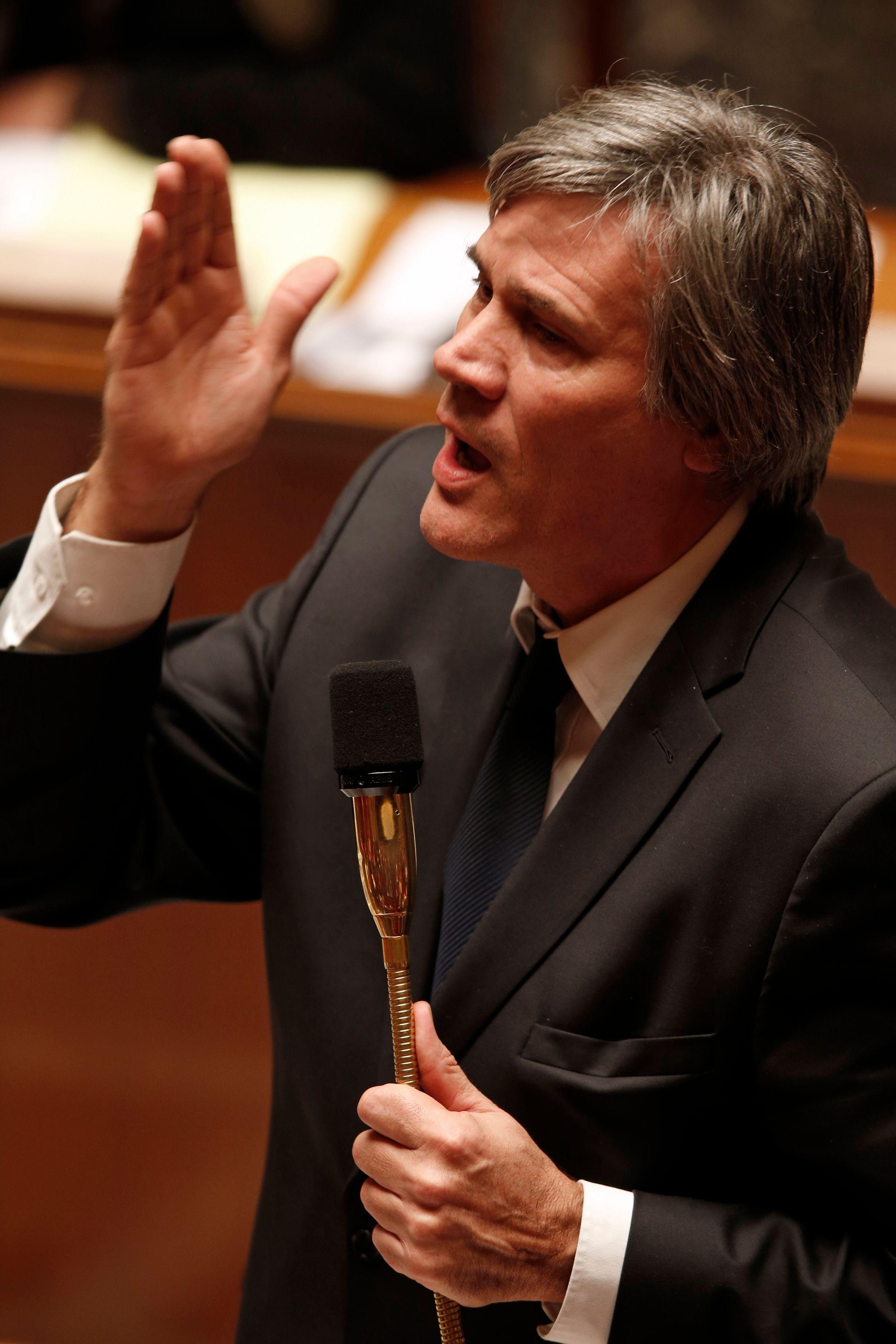 Stéphane Le Foll à l'Assemblée nationale.