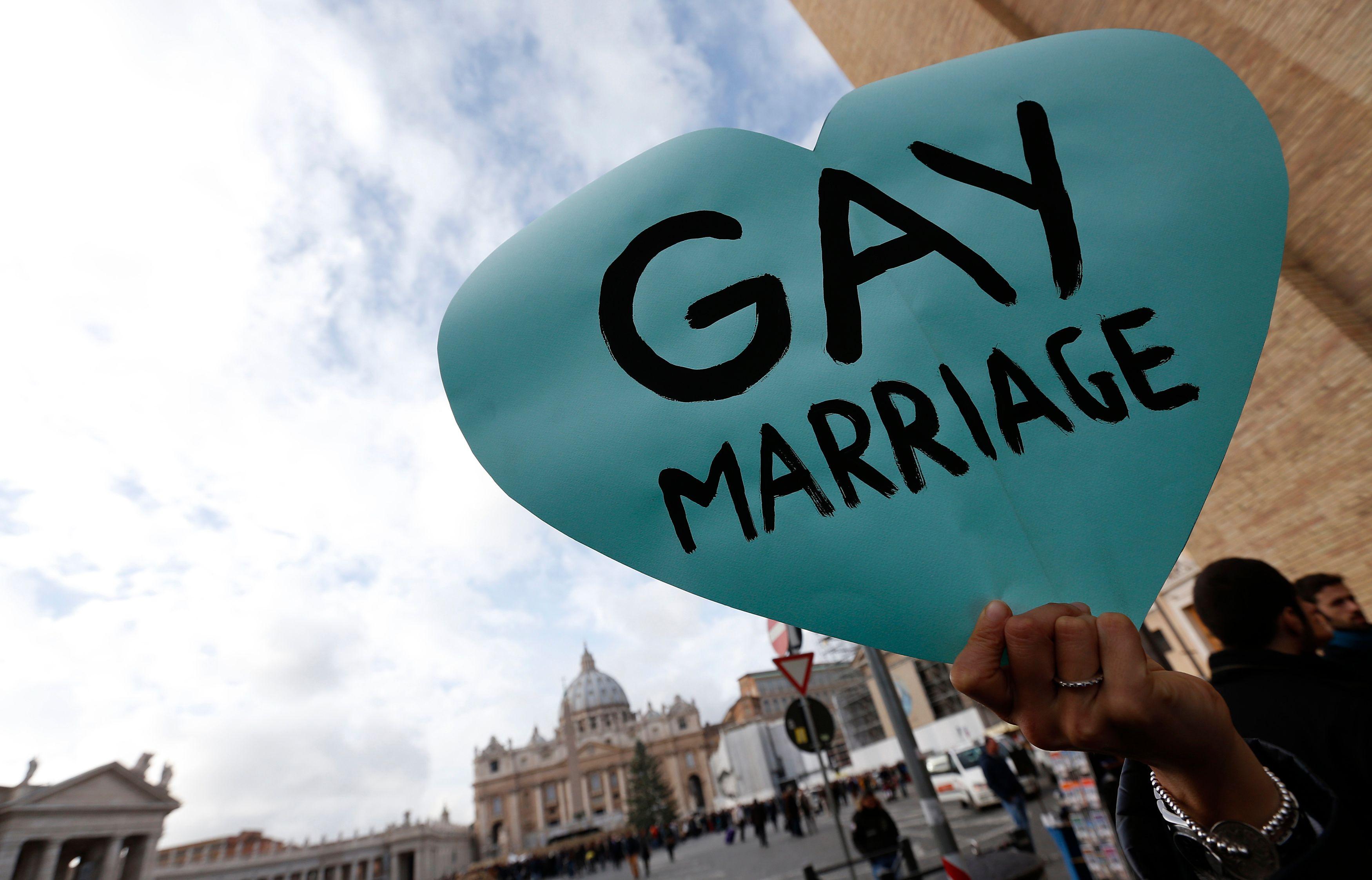 Selon un sondage Ifop réalisé pour Atlantico, 63% des Français sont favorables au mariage homosexuel.