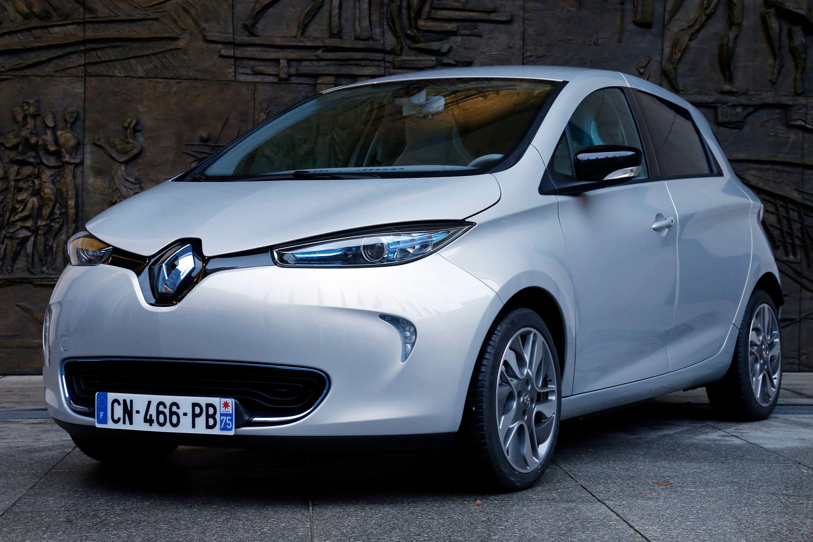 Voiture électrique Renault Zoe ult