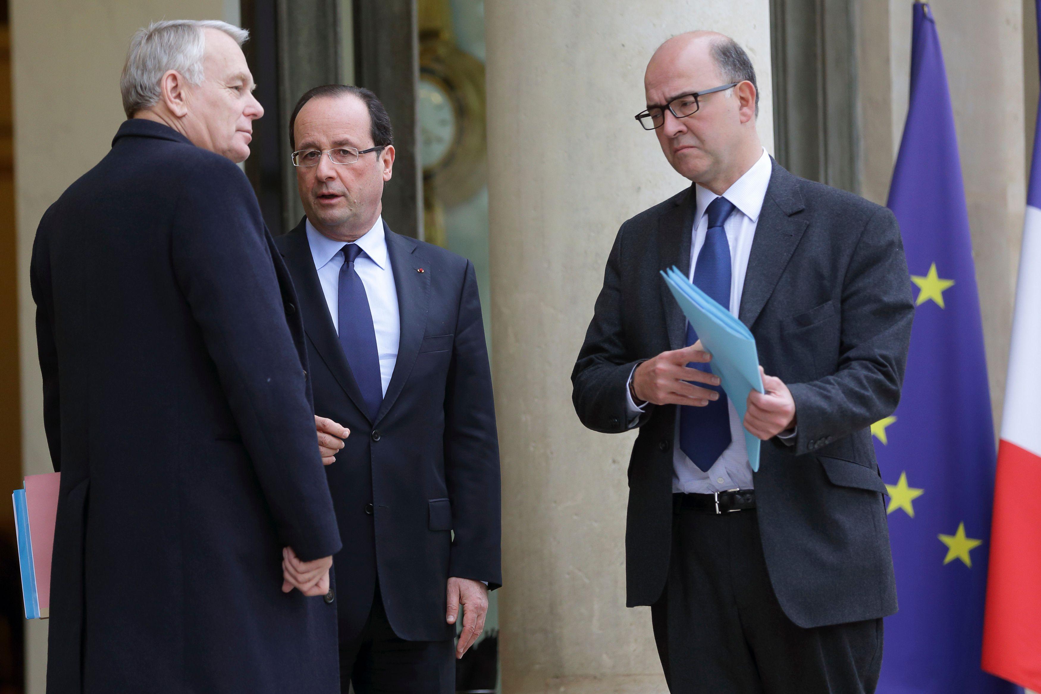 Pierre Moscovici assure qu'il est d'accord avec Jean-Marc Ayrault