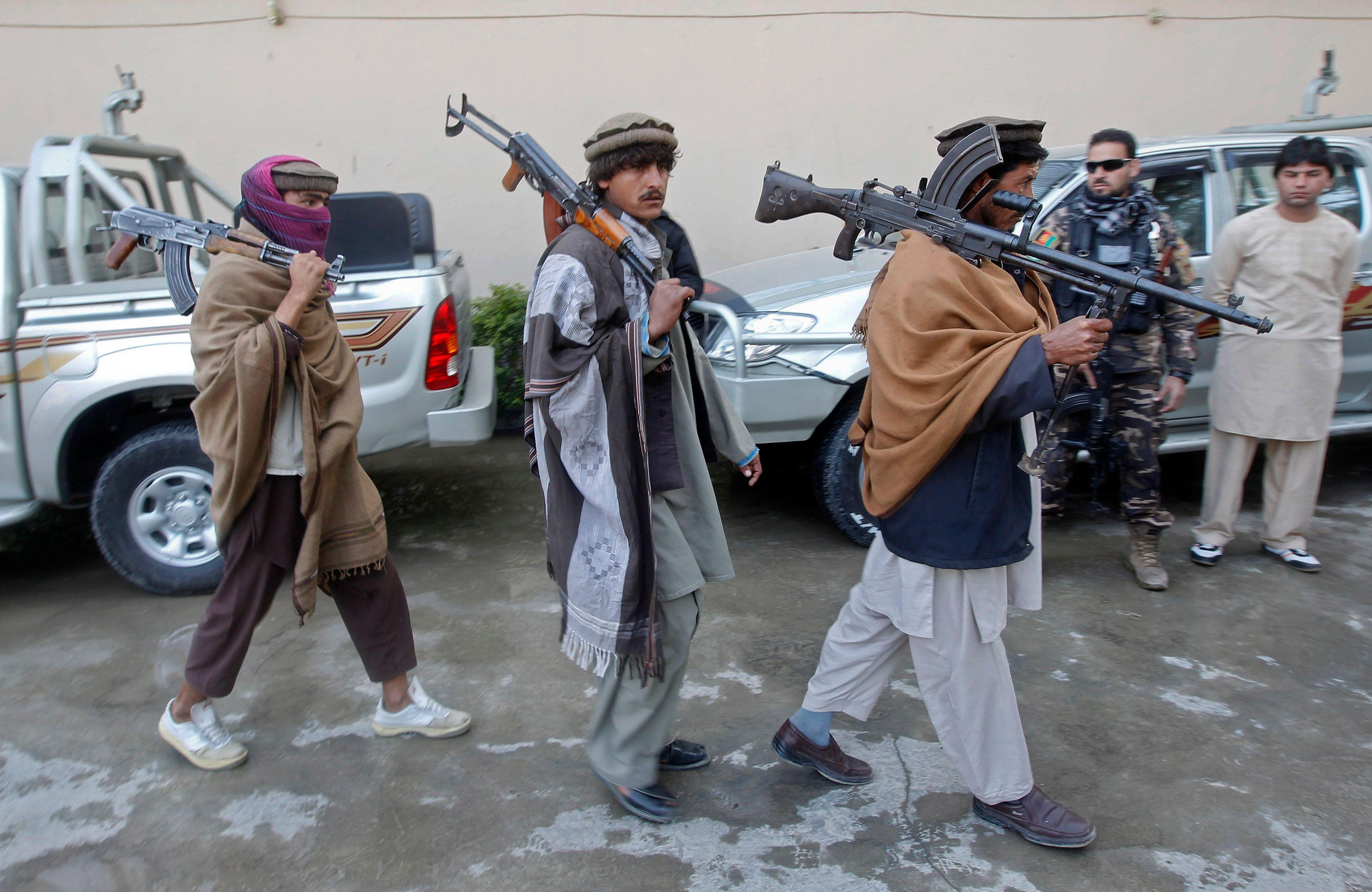Afghanistan : la Russie et l'Iran soutiennent les Taliban