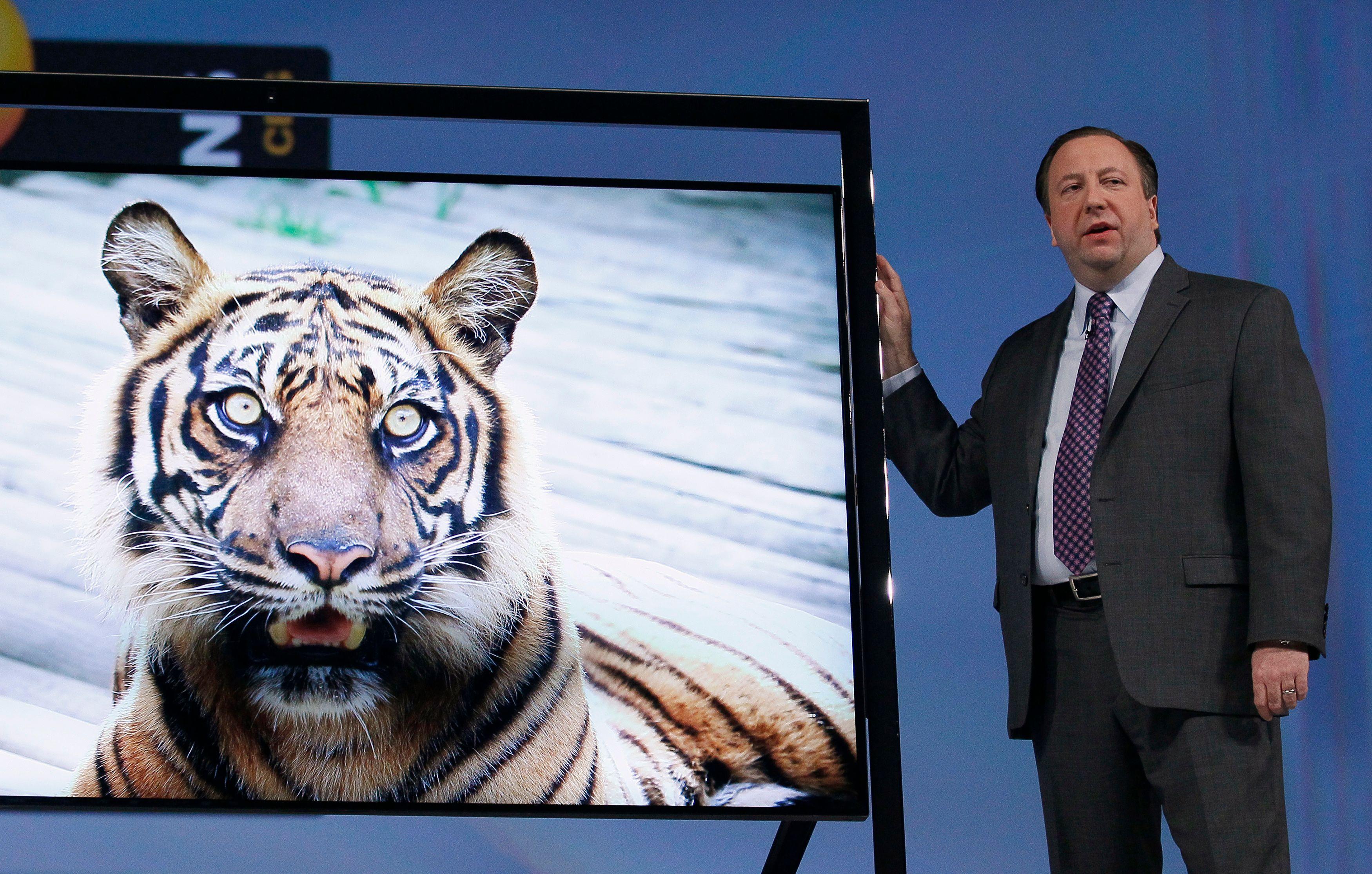 Ecrans HD, tablettes 20 pouces... Les nouveautés défilent au CES 2013 de Las Vegas.