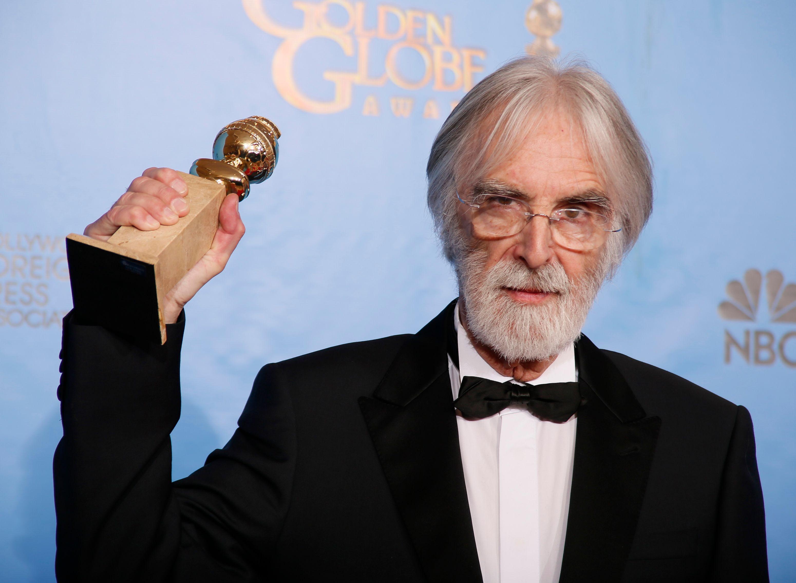 """Le film """"Amour"""" de Mickael Haneke, golden globes du meilleur film étranger"""