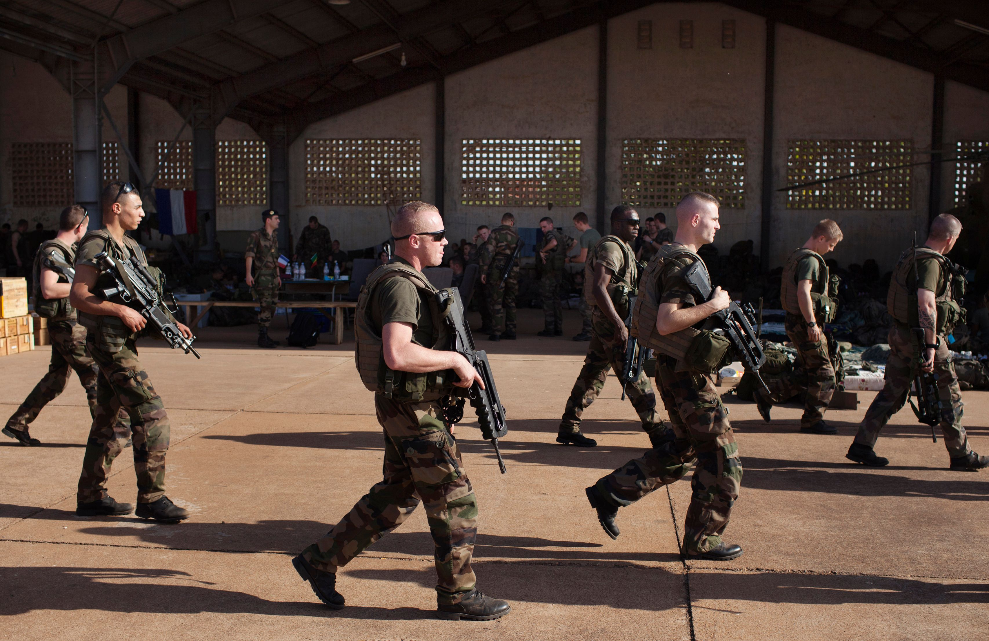 Une majorité de Français soutient l'intervention de la France au Mali.