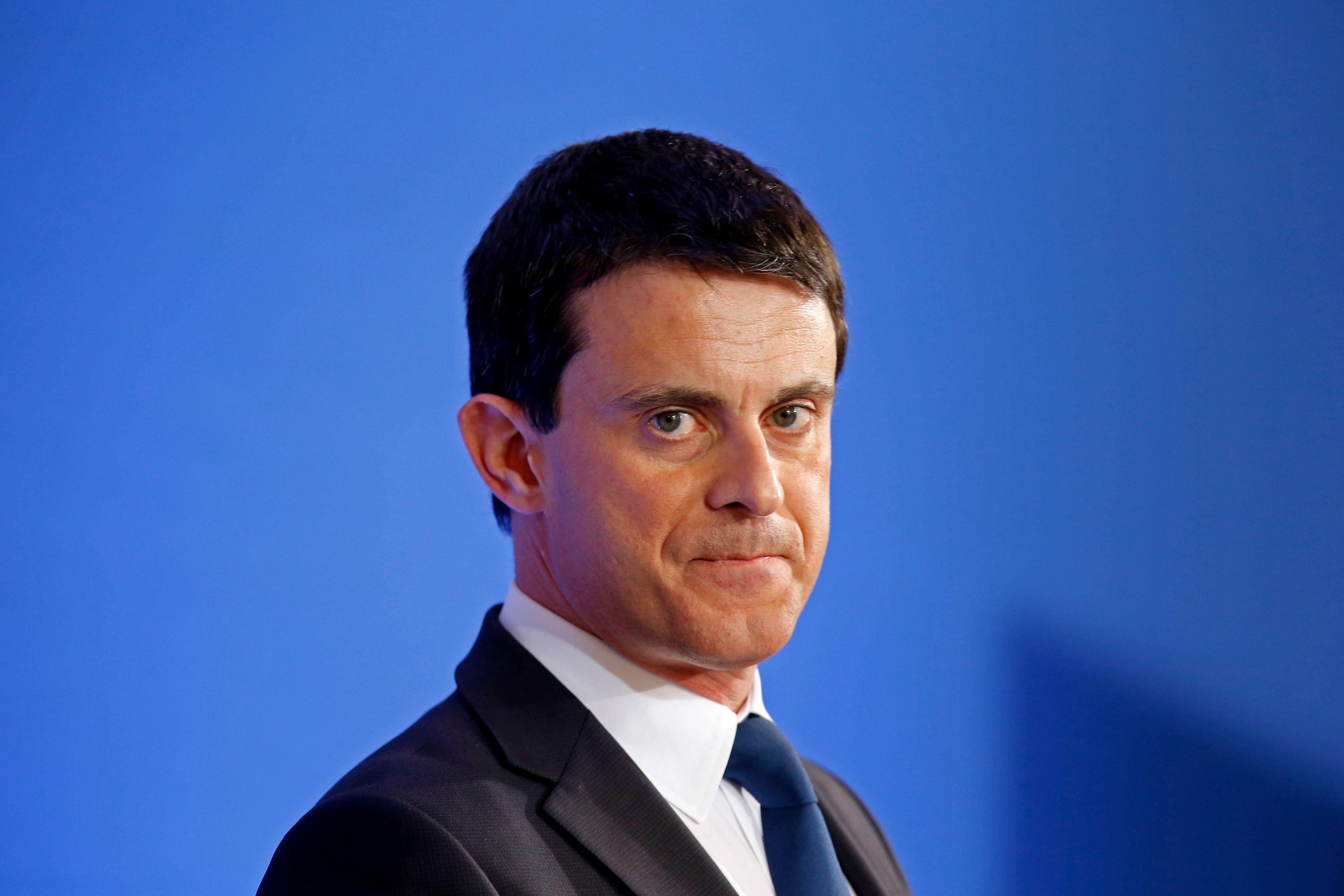 Manuel Valls a perdu 12 points dans le baromètre de février d'OpinionWay.