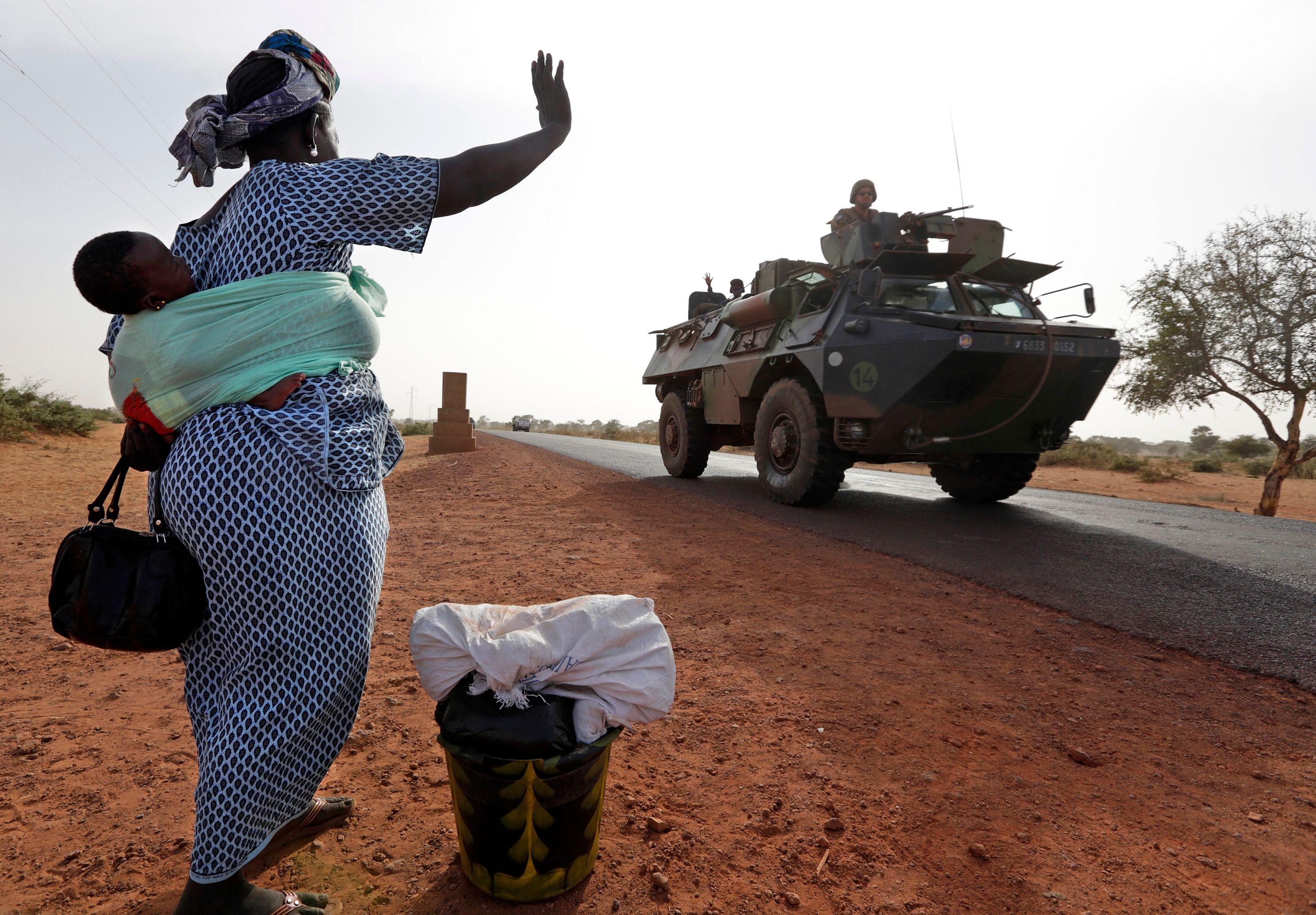 Lundi, l'entrée des soldats français et maliens dans Tombouctou a été saluée par les vivats des habitants de cette ville.
