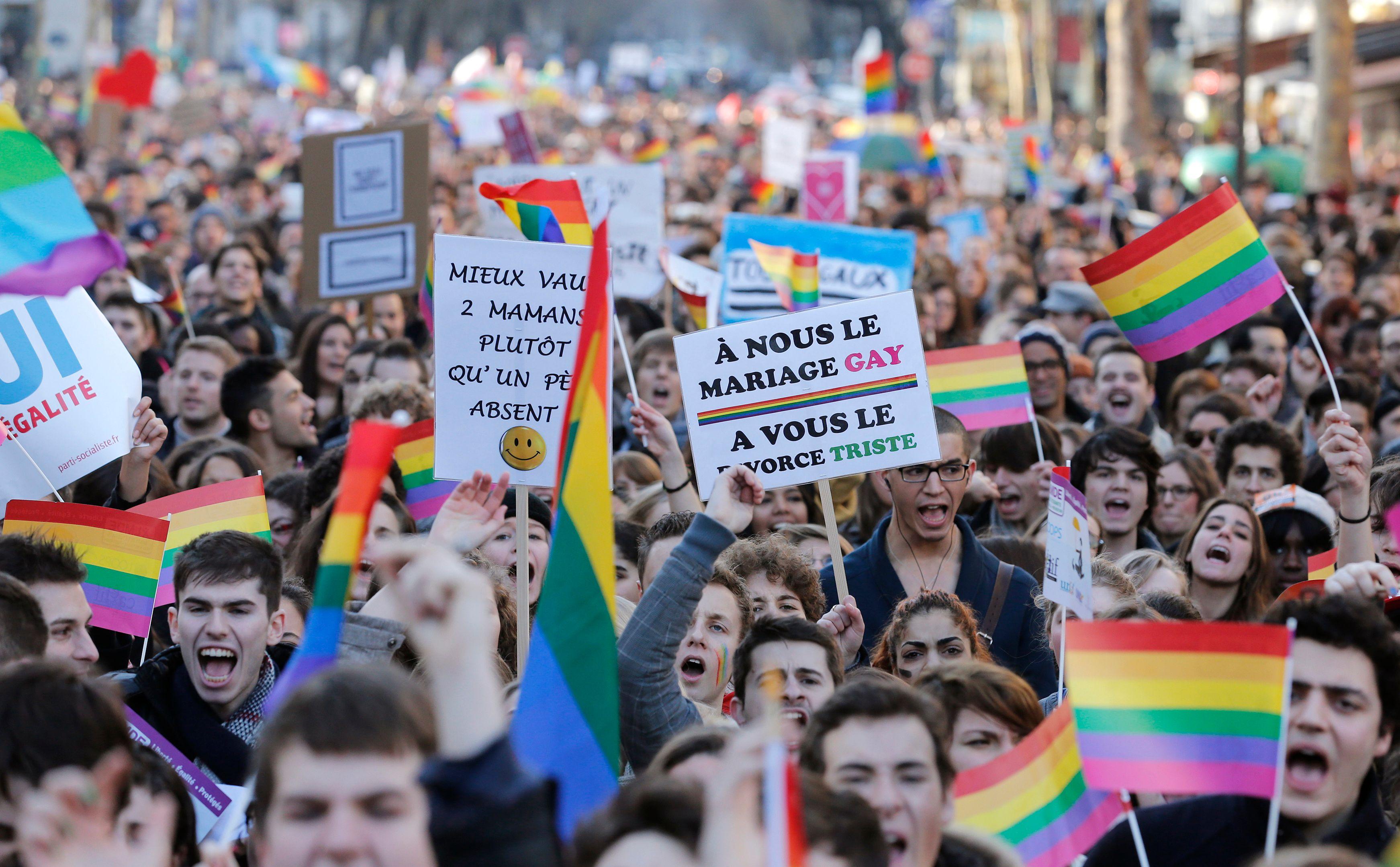 Dimanche, entre 125 000 et 400 000 partisans du mariage pour tous ont défilé dans les rues de Paris.