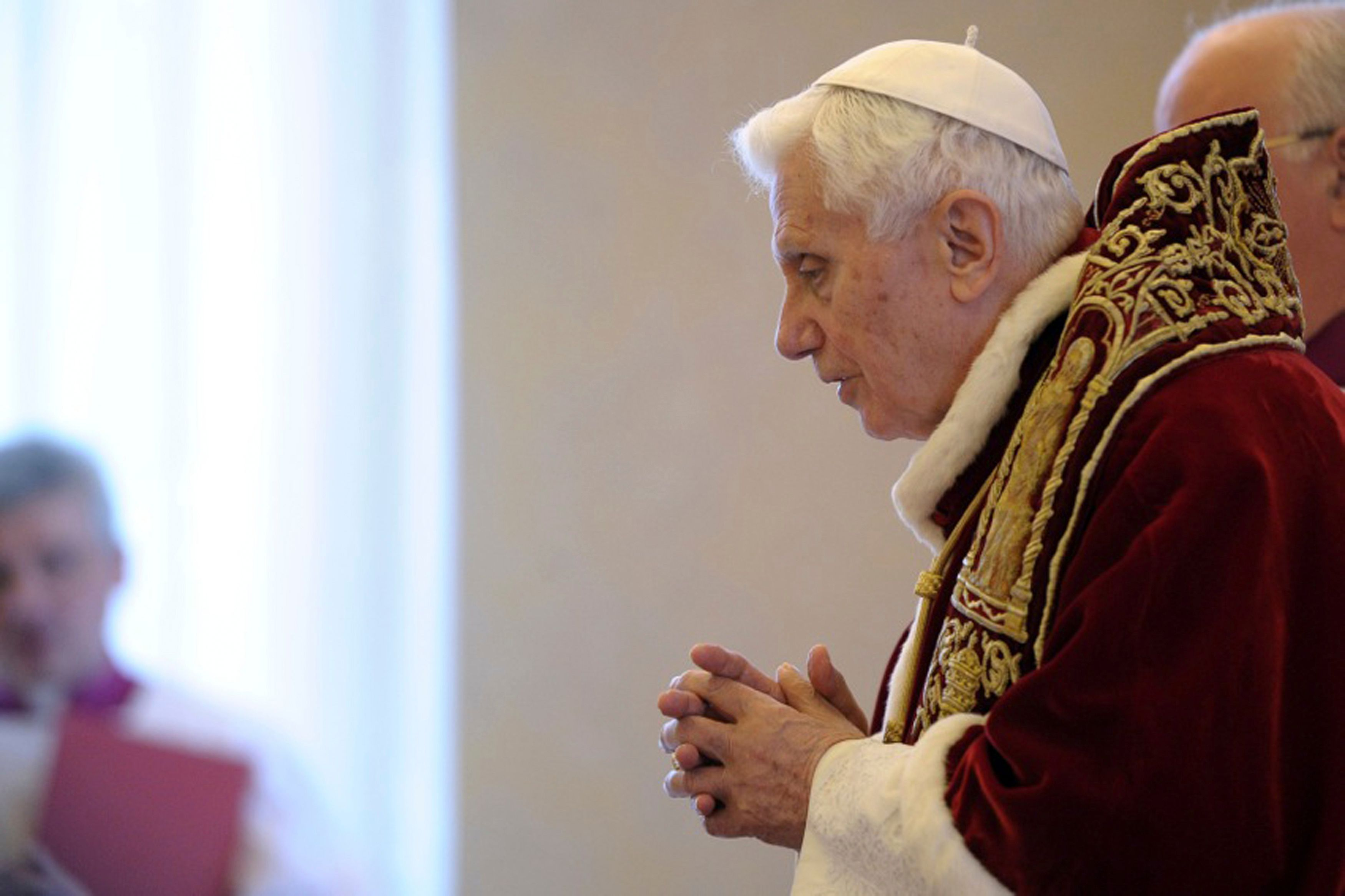 Benoît XVI a annoncé sa renonciation lundi.