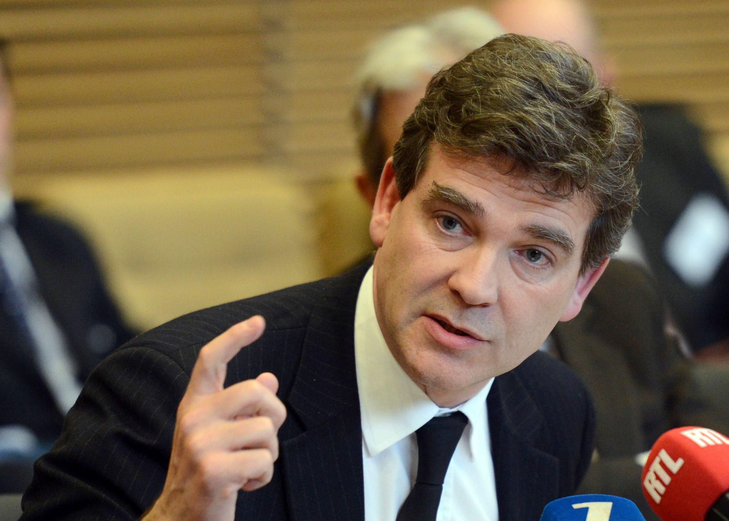 """Arnaud Montebourg : """"Être présent dans le capital de PSA est un acte de patriotisme industriel"""""""