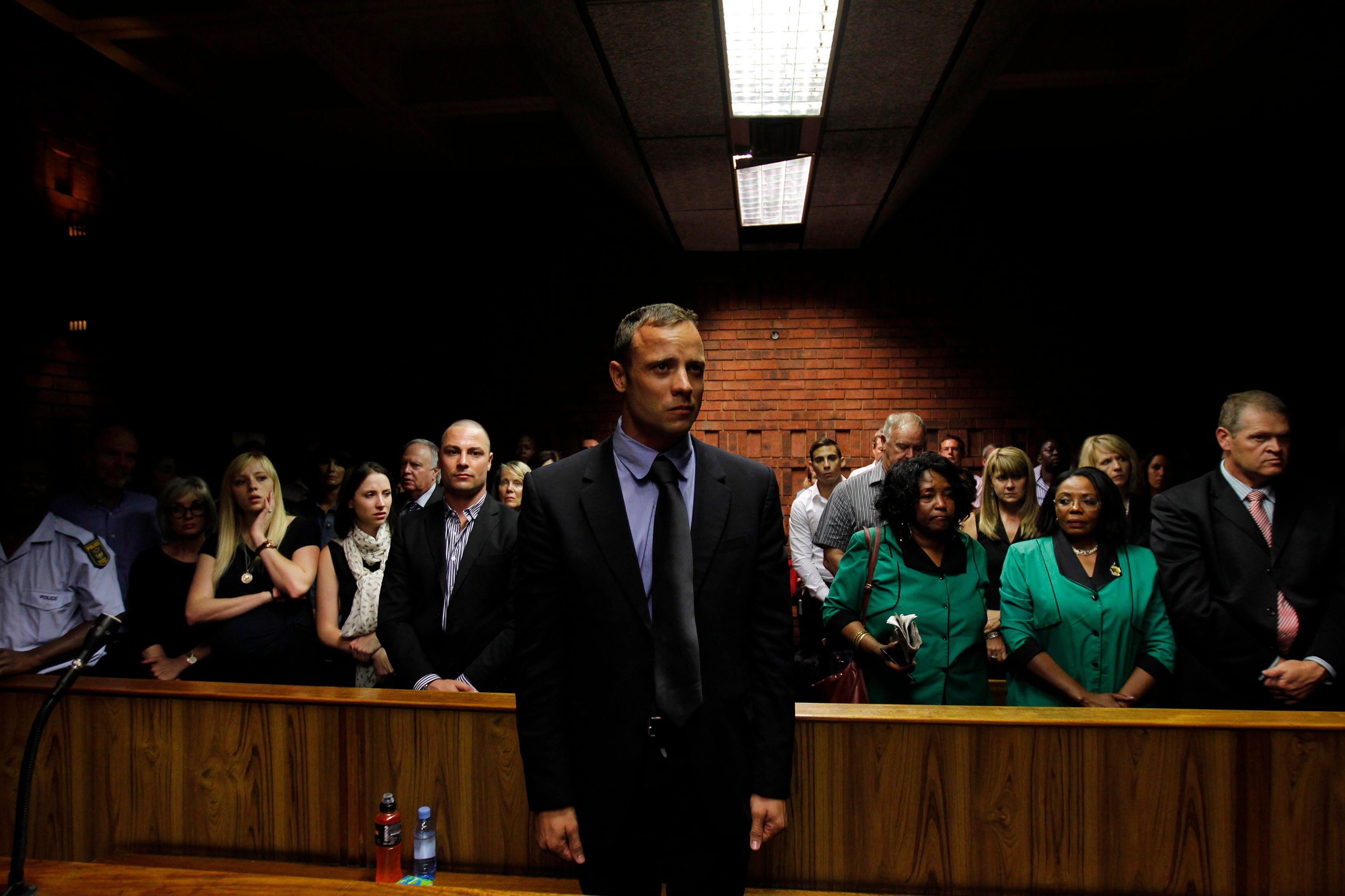 Pistorius a été libéré sous caution le 22 février