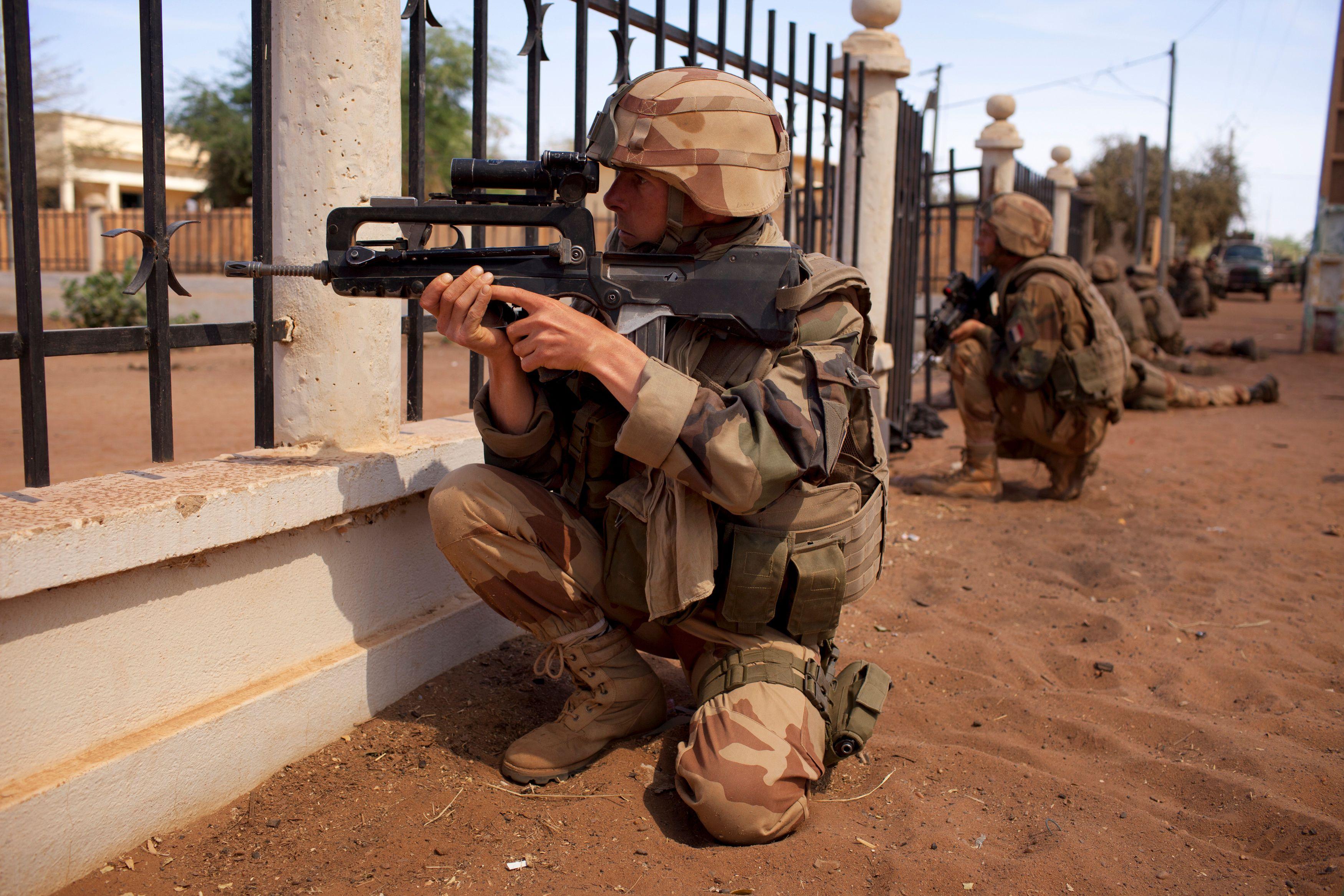 Plusieurs soldats français blessés à Tombouctou
