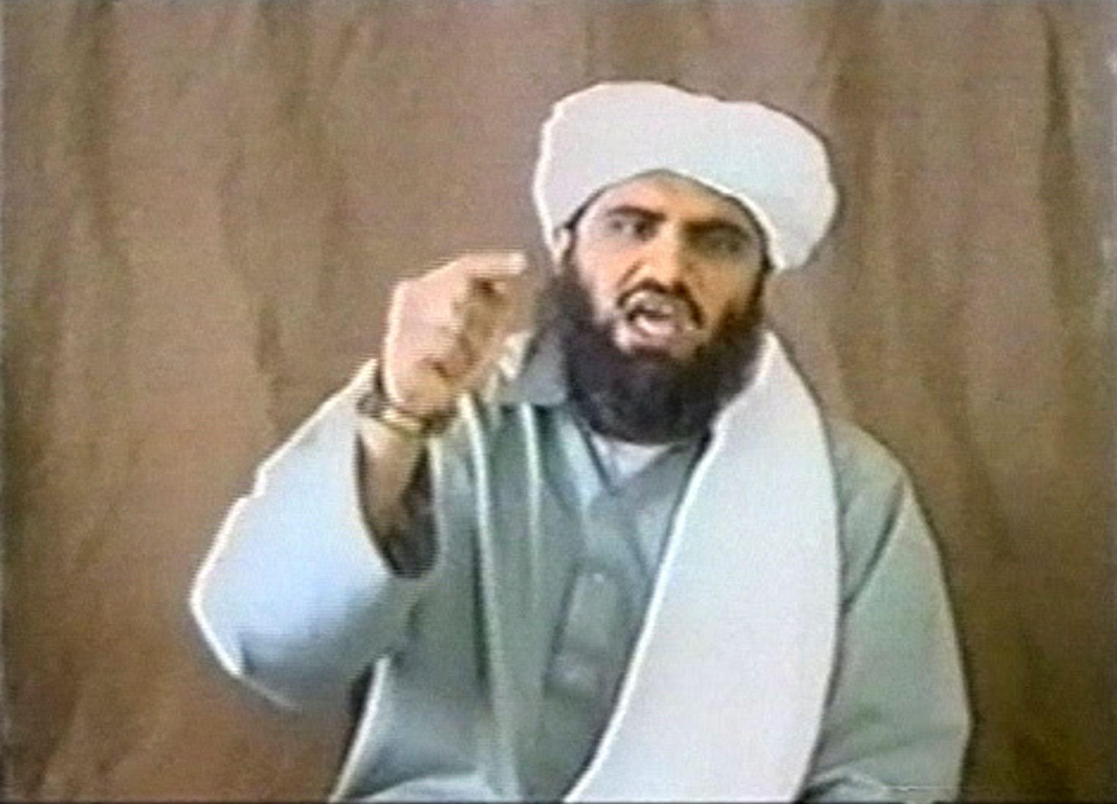 Souleymane Abou Ghaith était aux côtés des numéros un et deux d'Al-Qaida au lendemain du 11 septembre 2001.