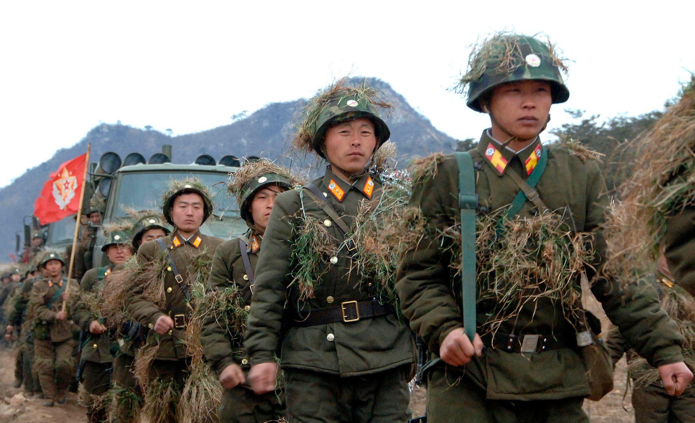 La Corée du Nord a menacé de frapper des bases navales américaines