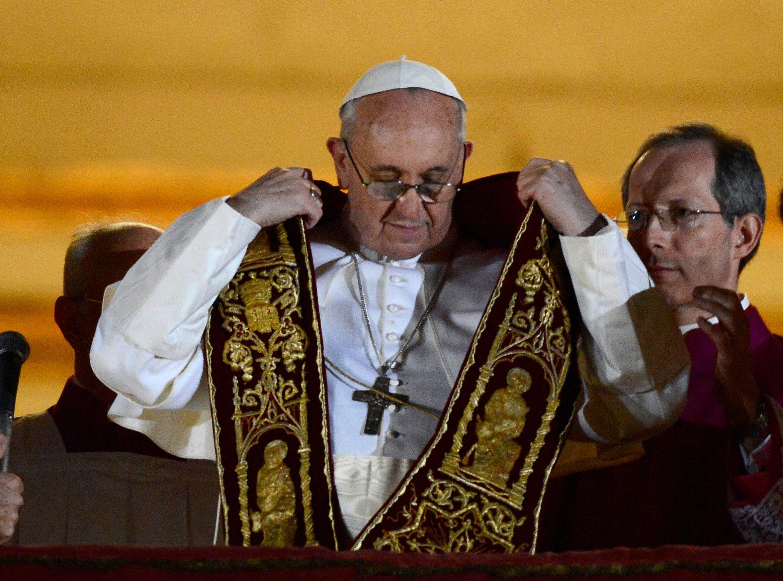 Voici le nouveau Pape François Ier